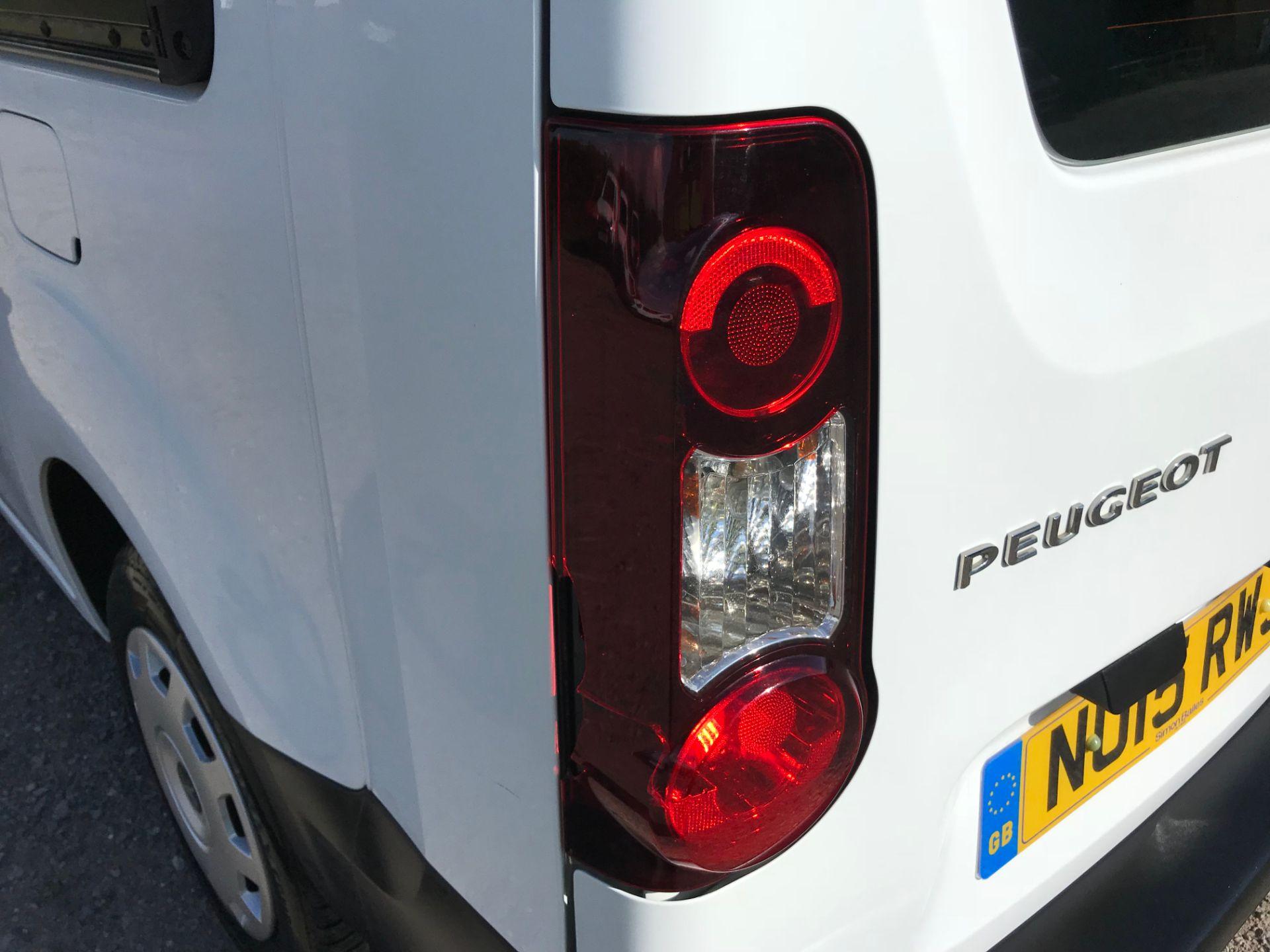 2015 Peugeot Partner 716 S 1.6 Hdi 92 Crew Van Euro 5 (NU15RWJ) Image 35