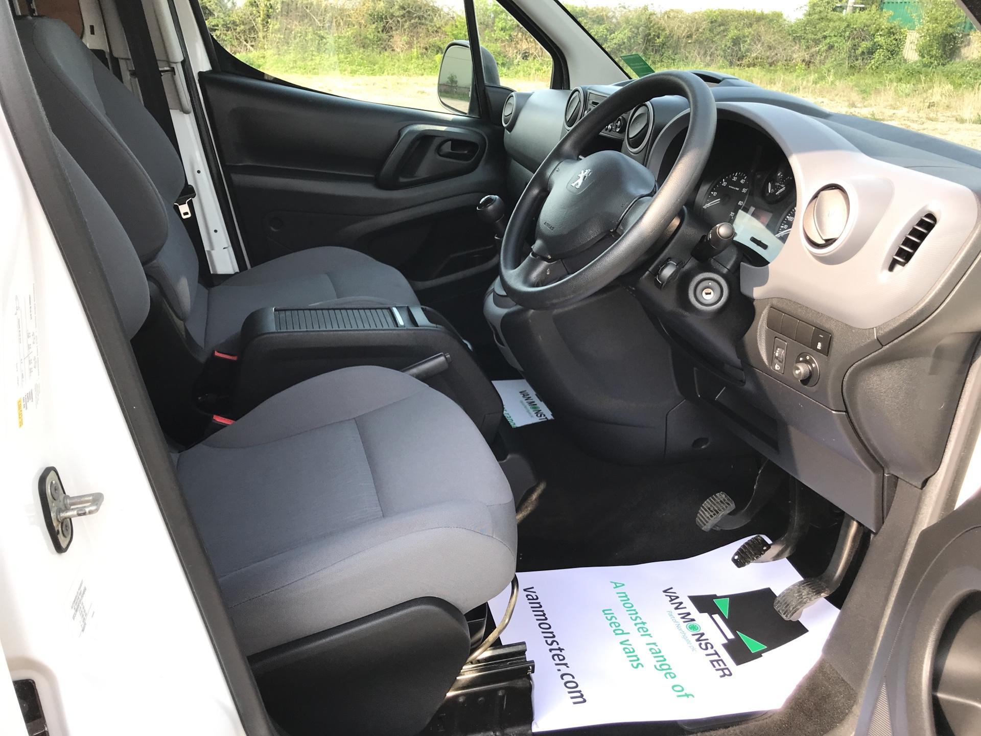 2015 Peugeot Partner L2 716 1.6 92 CREW VAN EURO 5 (NU15RXG) Image 9