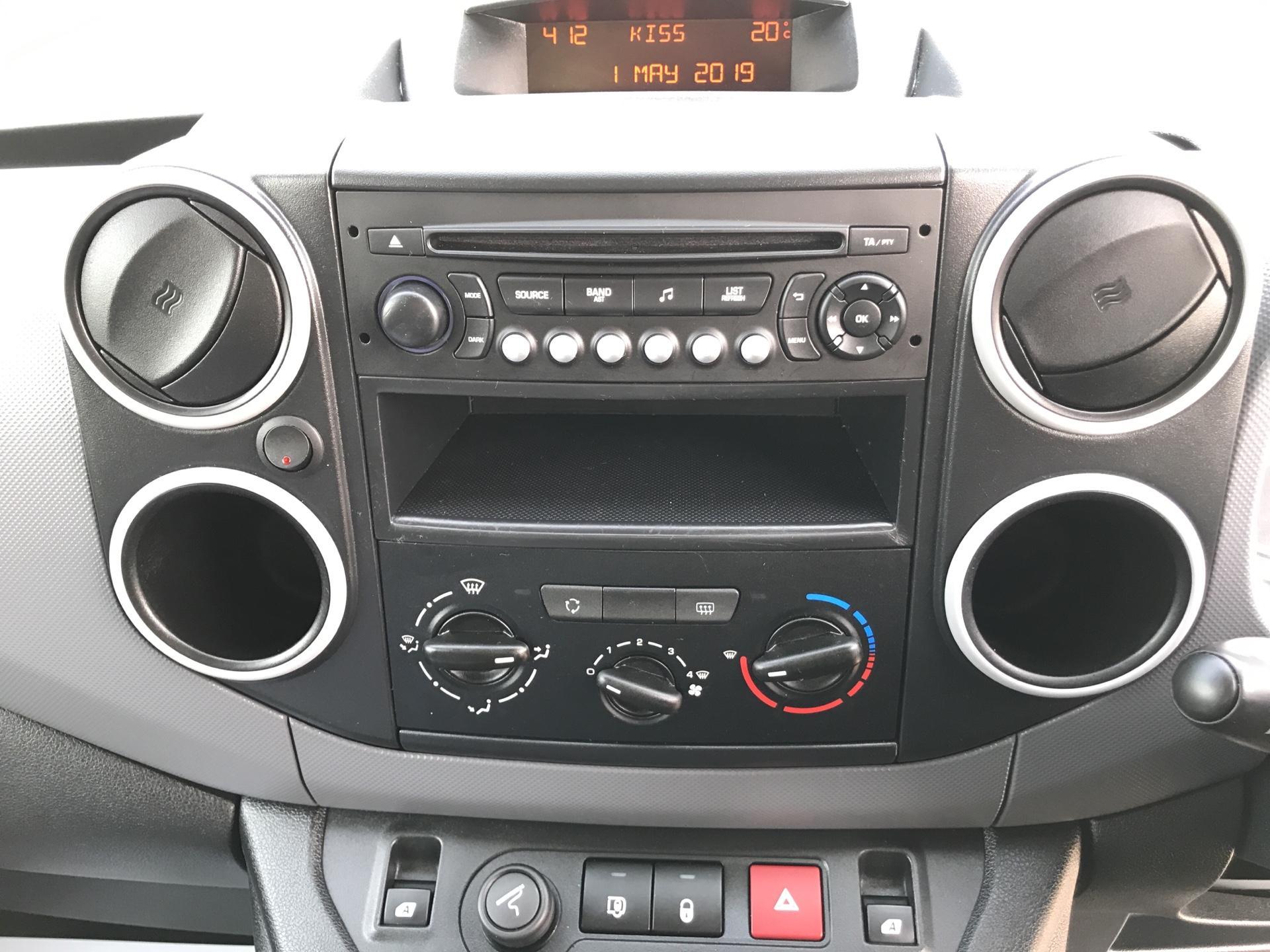 2015 Peugeot Partner L2 716 1.6 92 CREW VAN EURO 5 (NU15RXG) Image 10
