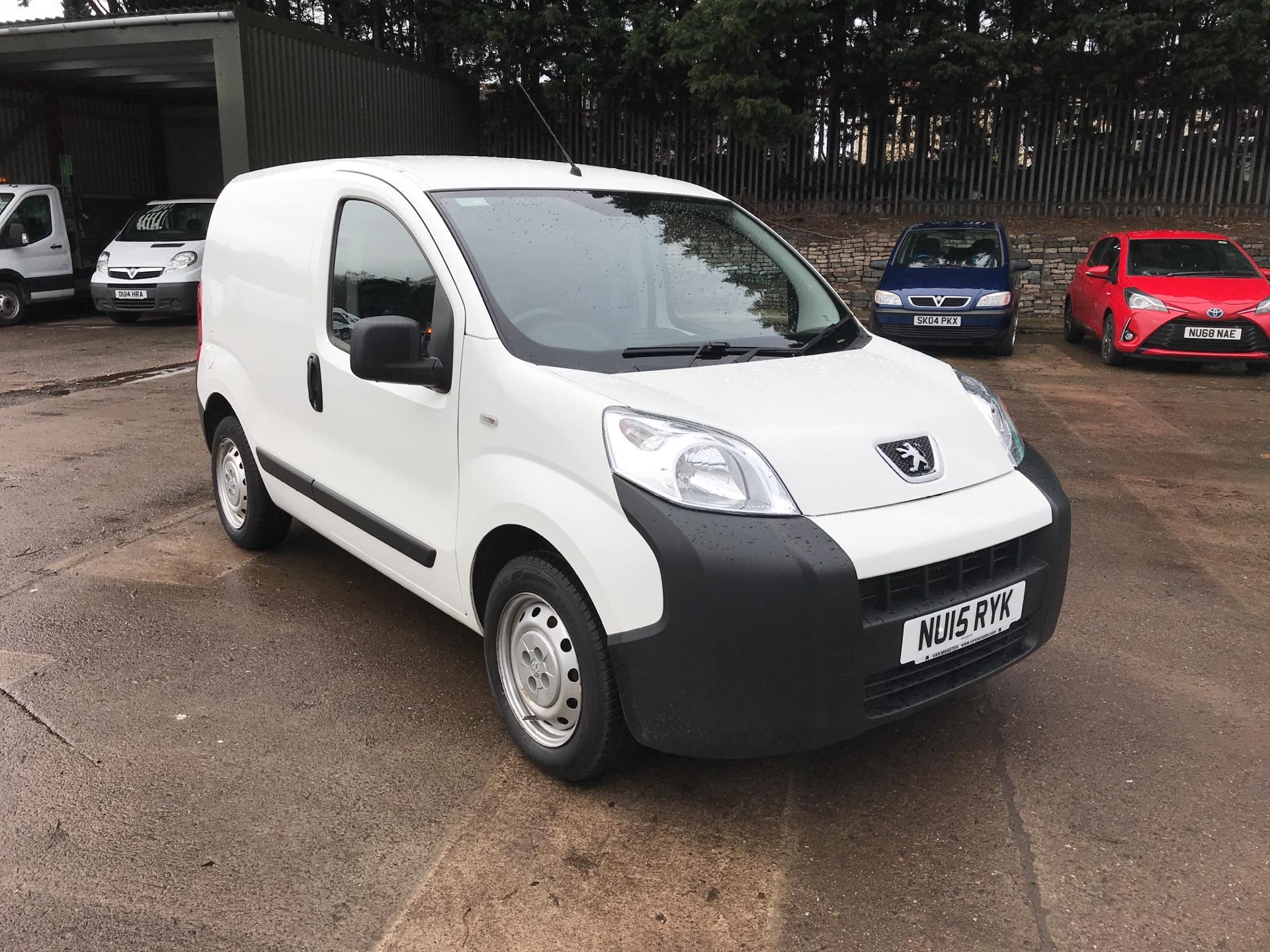 2015 Peugeot Bipper 1.3 HDI 75PS S PLUS PACK NON S/S EURO 5 (NU15RYK)