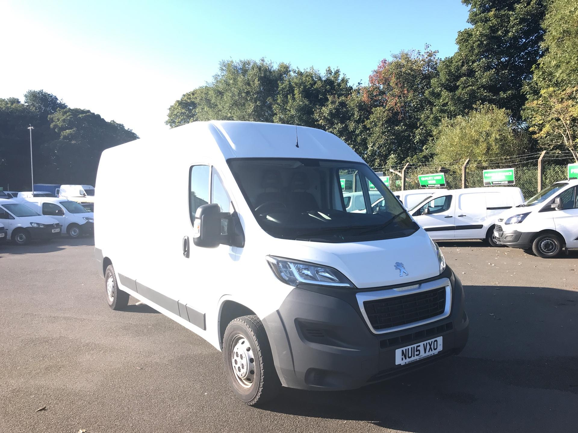 2015 Peugeot Boxer 2.2 HDI H2 VAN 130PS *VALUE RANGE VEHICLE - CONDITION REFLECTED IN PRICE* (NU15VXO)