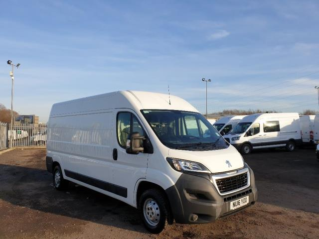 2016 Peugeot Boxer 335 2.2 HDI L3 H2 VAN 130Ps EURO 5 *SPEED RESTRICTOR FITTED SET AT 70MPH* (NU16YOO)