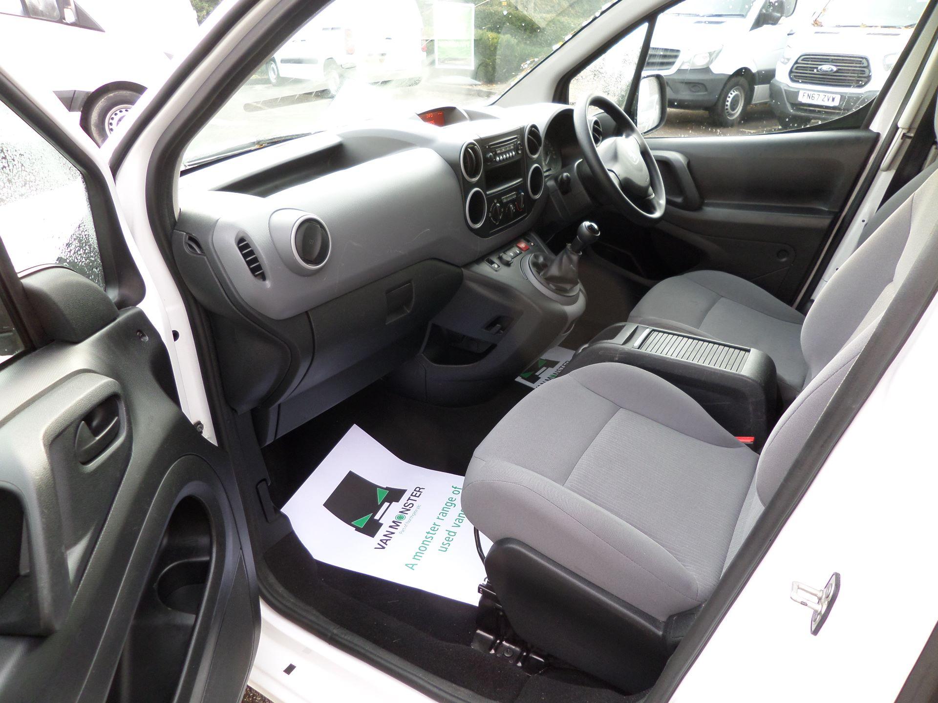 2016 Peugeot Partner 850 S 1.6 Hdi 92 Van [Sld] Euro 5 (NU16AGY) Image 7