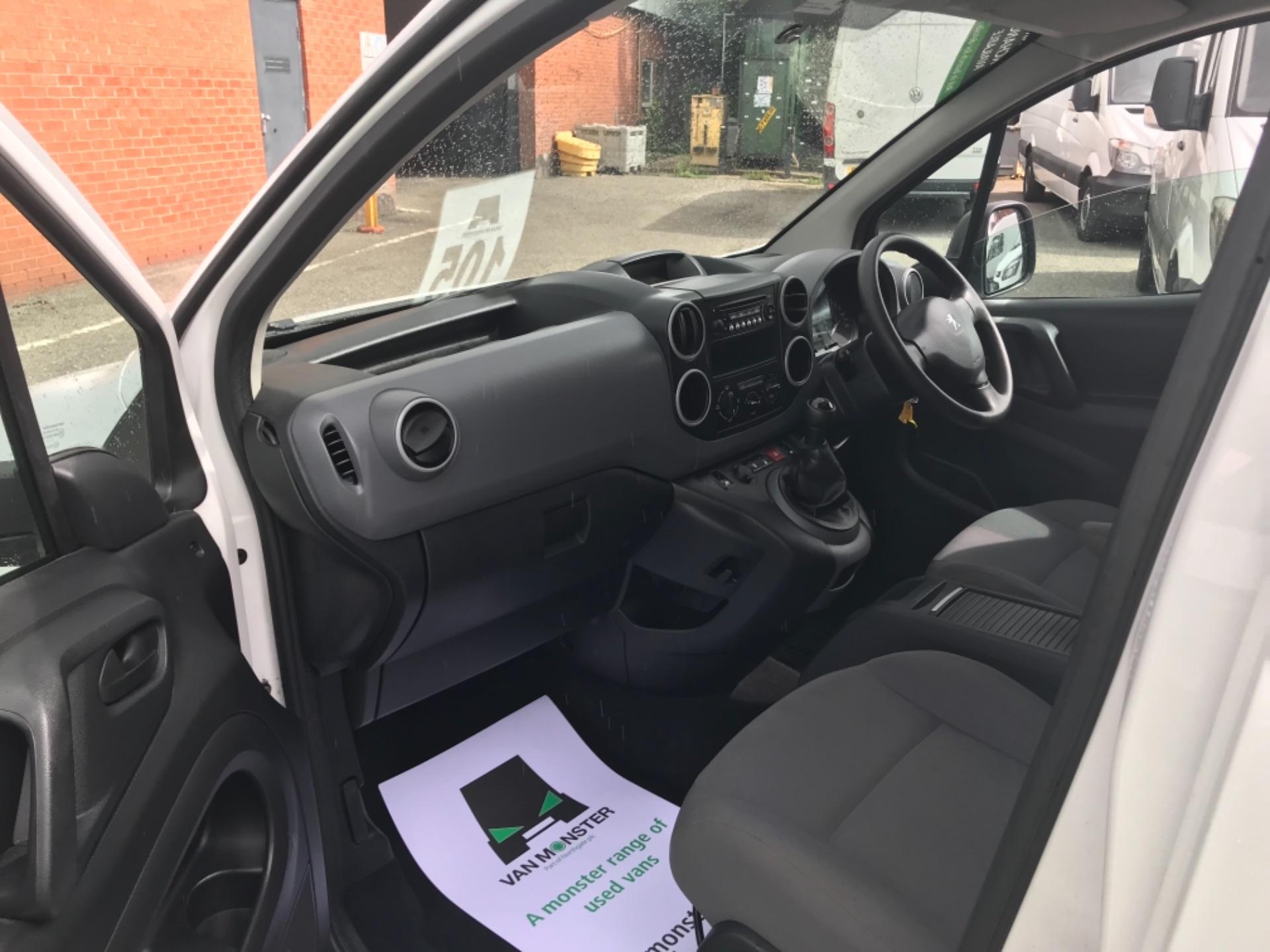 2016 Peugeot Partner L1850 S 1.6 Hdi 92 Van  Euro 5 (NU16AHG) Image 10