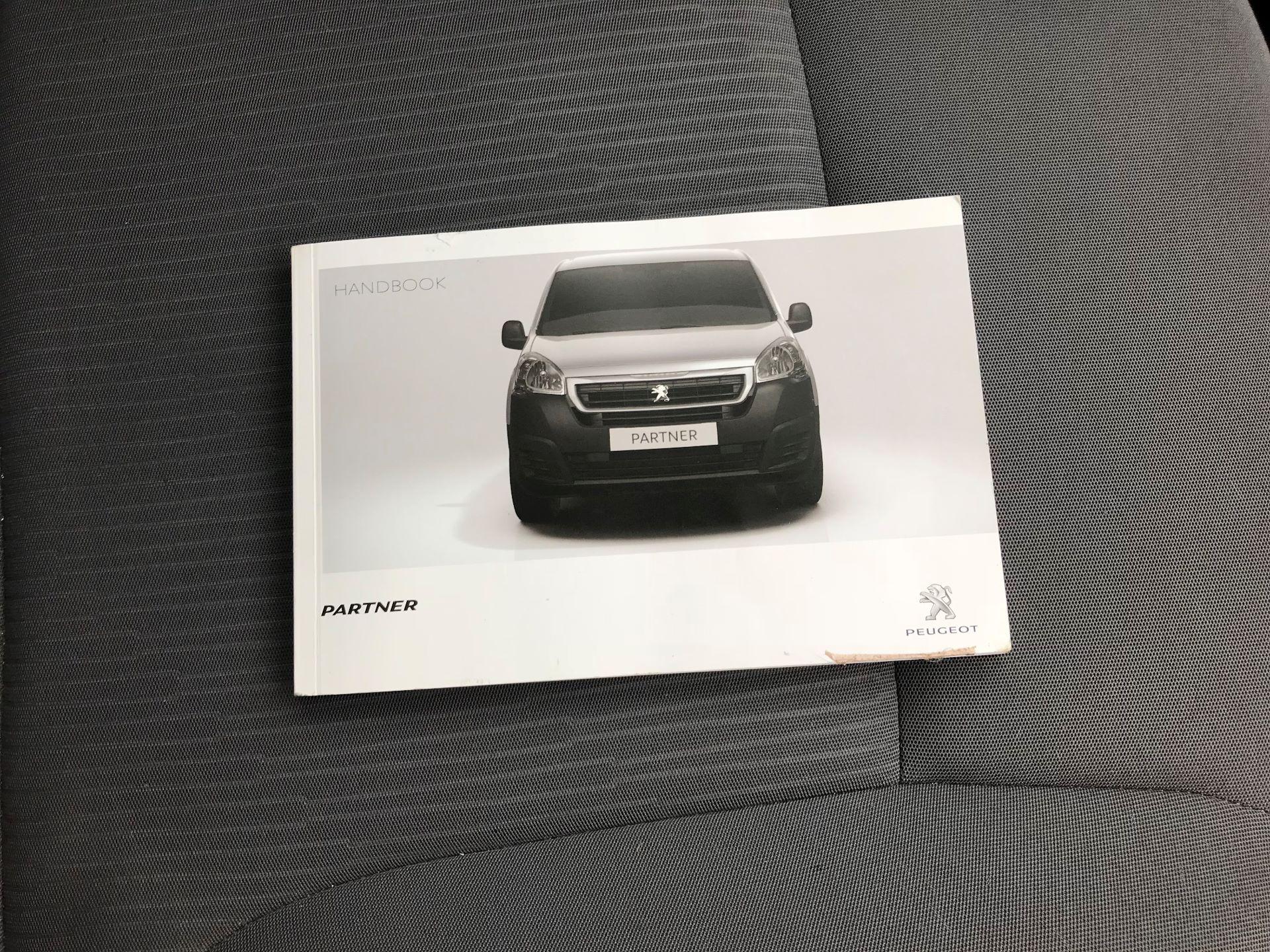 2016 Peugeot Partner L1 850 S 1.6 92PS [SLD] EURO 5 (NU16AMO) Image 27