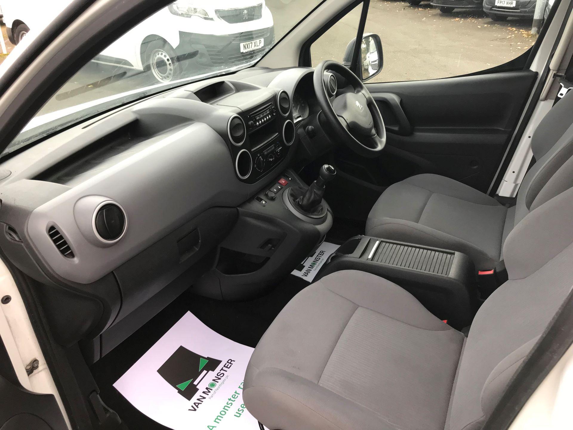 2016 Peugeot Partner L1 850 S 1.6 92PS [SLD] EURO 5 (NU16AMO) Image 17