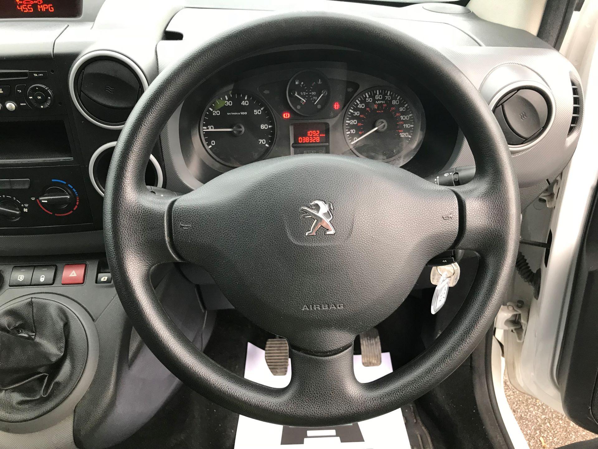 2016 Peugeot Partner L1 850 S 1.6 92PS [SLD] EURO 5 (NU16AMO) Image 20