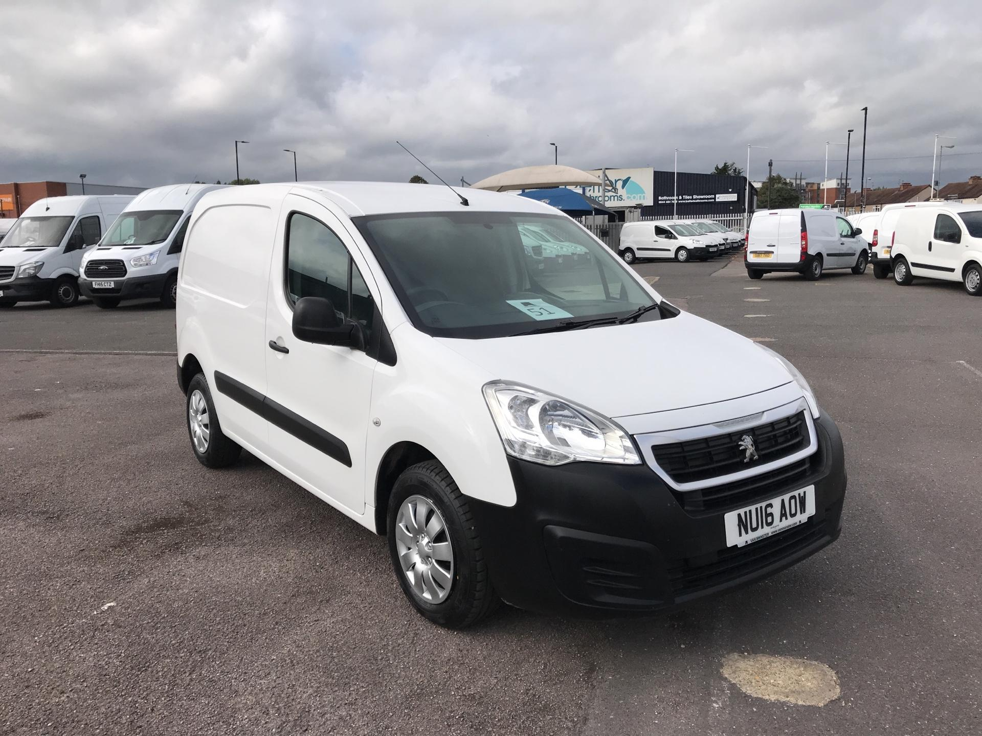 2016 Peugeot Partner 850 S 1.6 HDI 92PS VAN (SLD)*VALUE RANGE VEHICLE CONDITION REFLECTED IN PRICE* (NU16AOW)