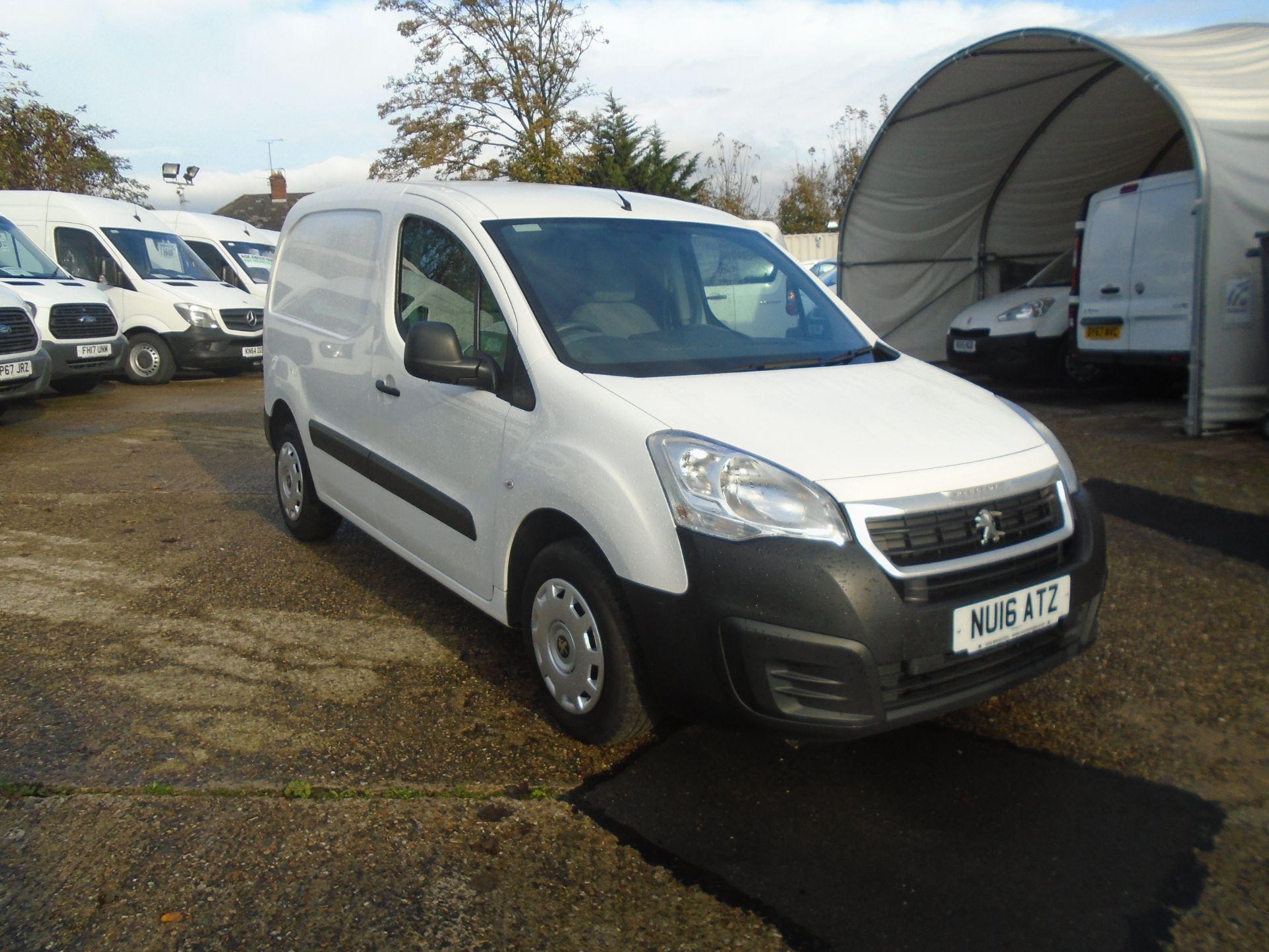 2016 Peugeot Partner 850 S 1.6 Hdi 92 Van [Sld] (NU16ATZ)