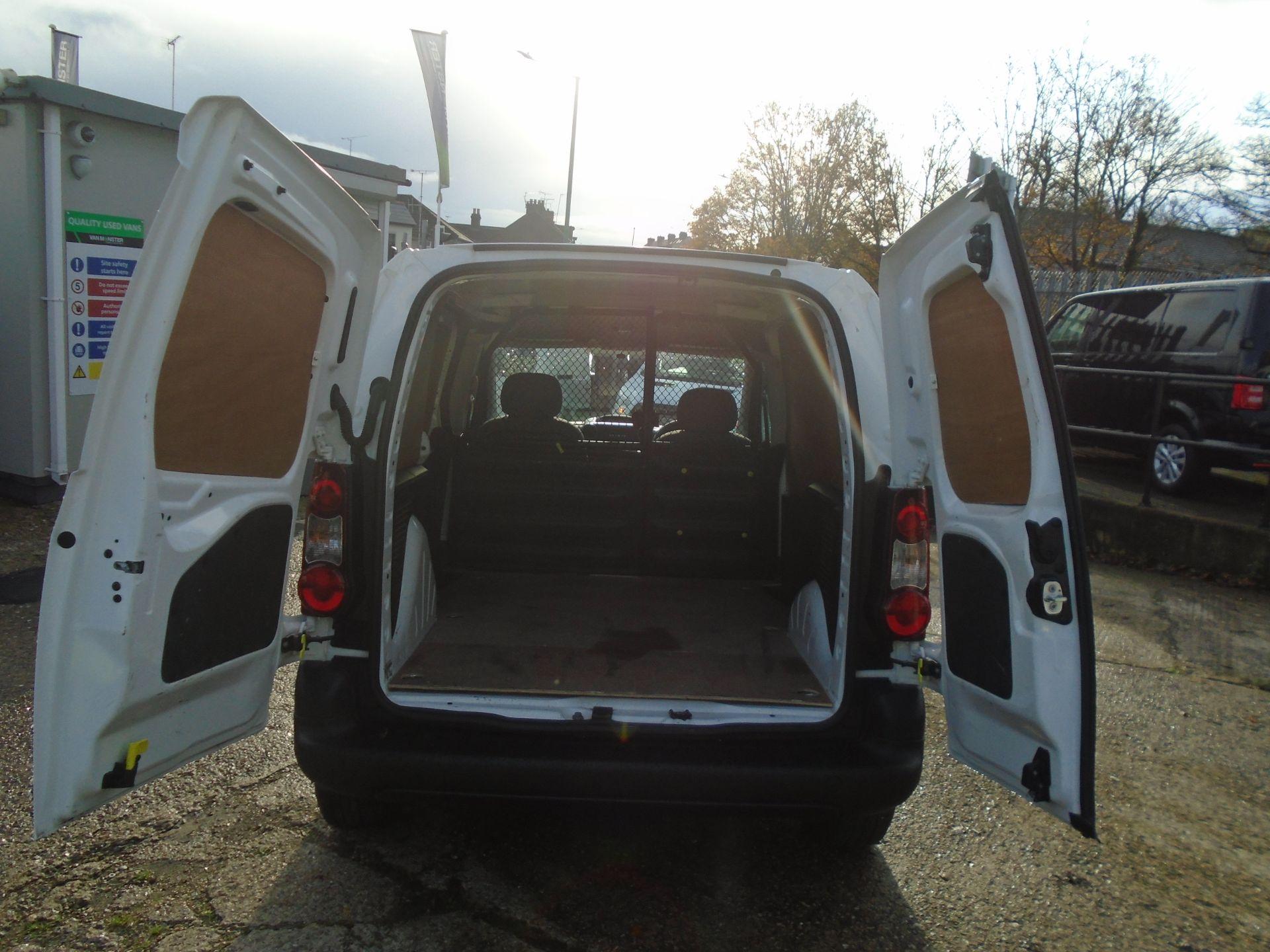 2016 Peugeot Partner 850 S 1.6 Hdi 92 Van [Sld] (NU16ATZ) Image 10