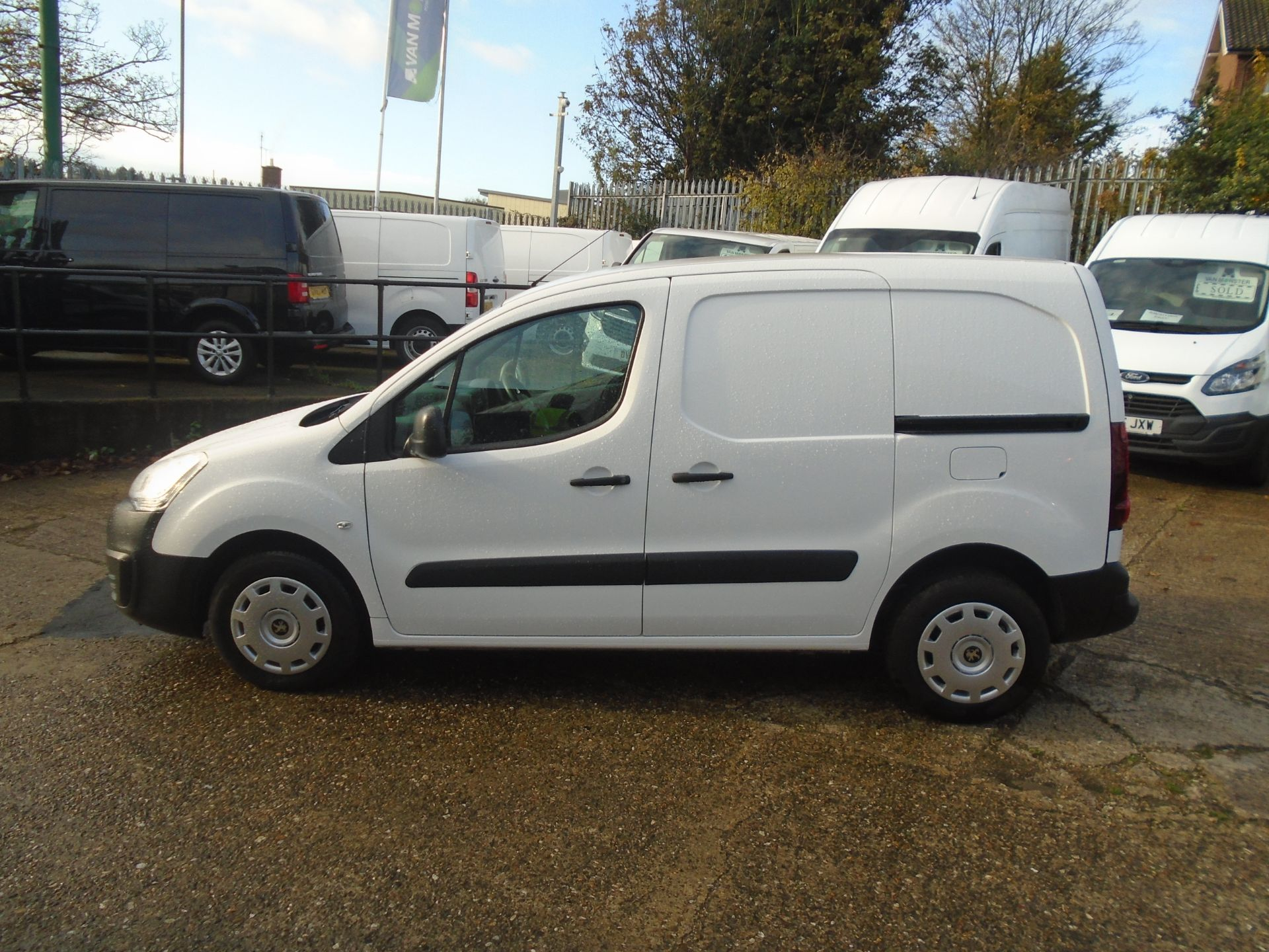 2016 Peugeot Partner 850 S 1.6 Hdi 92 Van [Sld] (NU16ATZ) Image 7