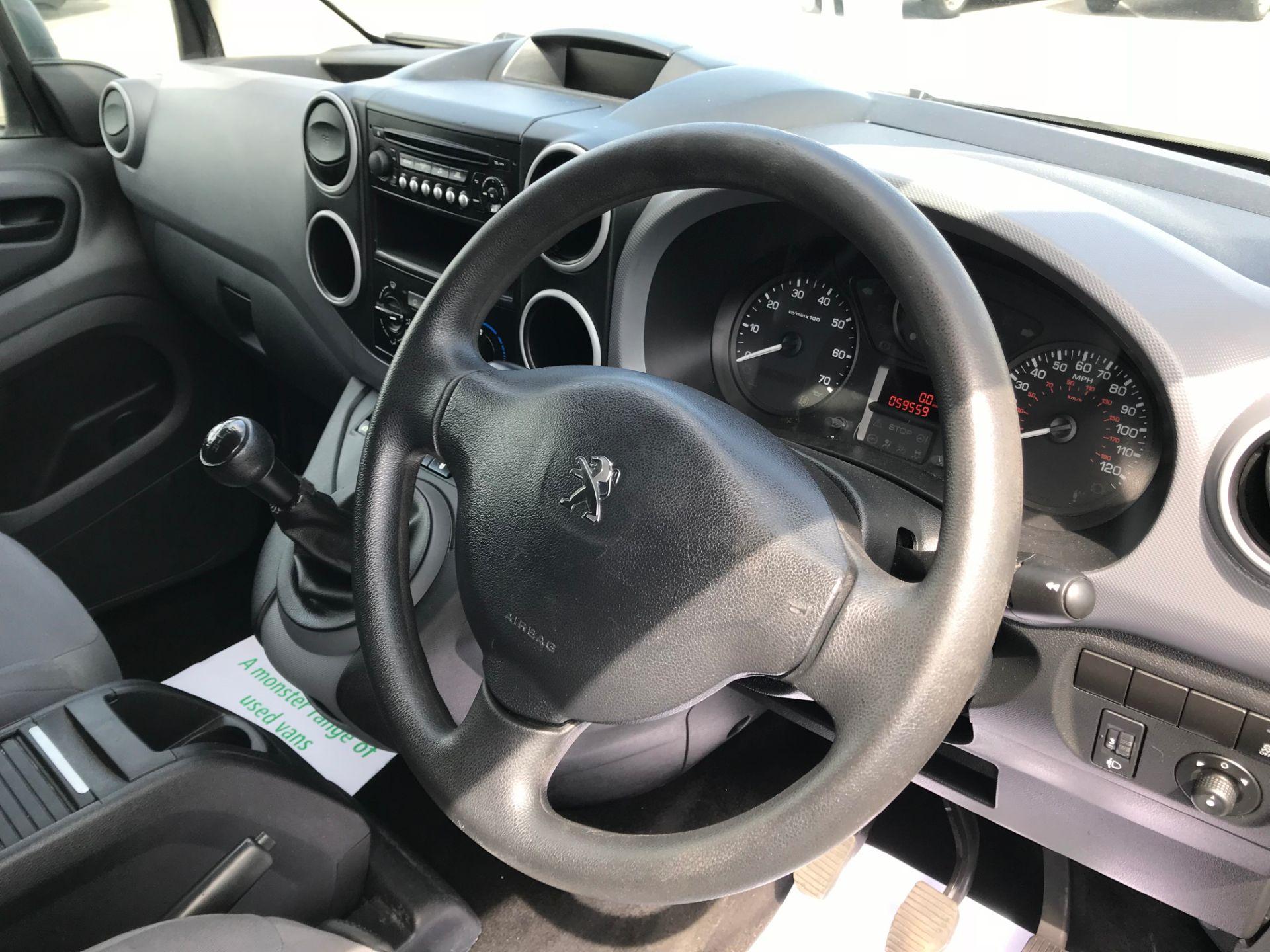 2016 Peugeot Partner  L1 850 S 1.6 92PS [SLD] EURO 5 (NU16HCD) Image 21