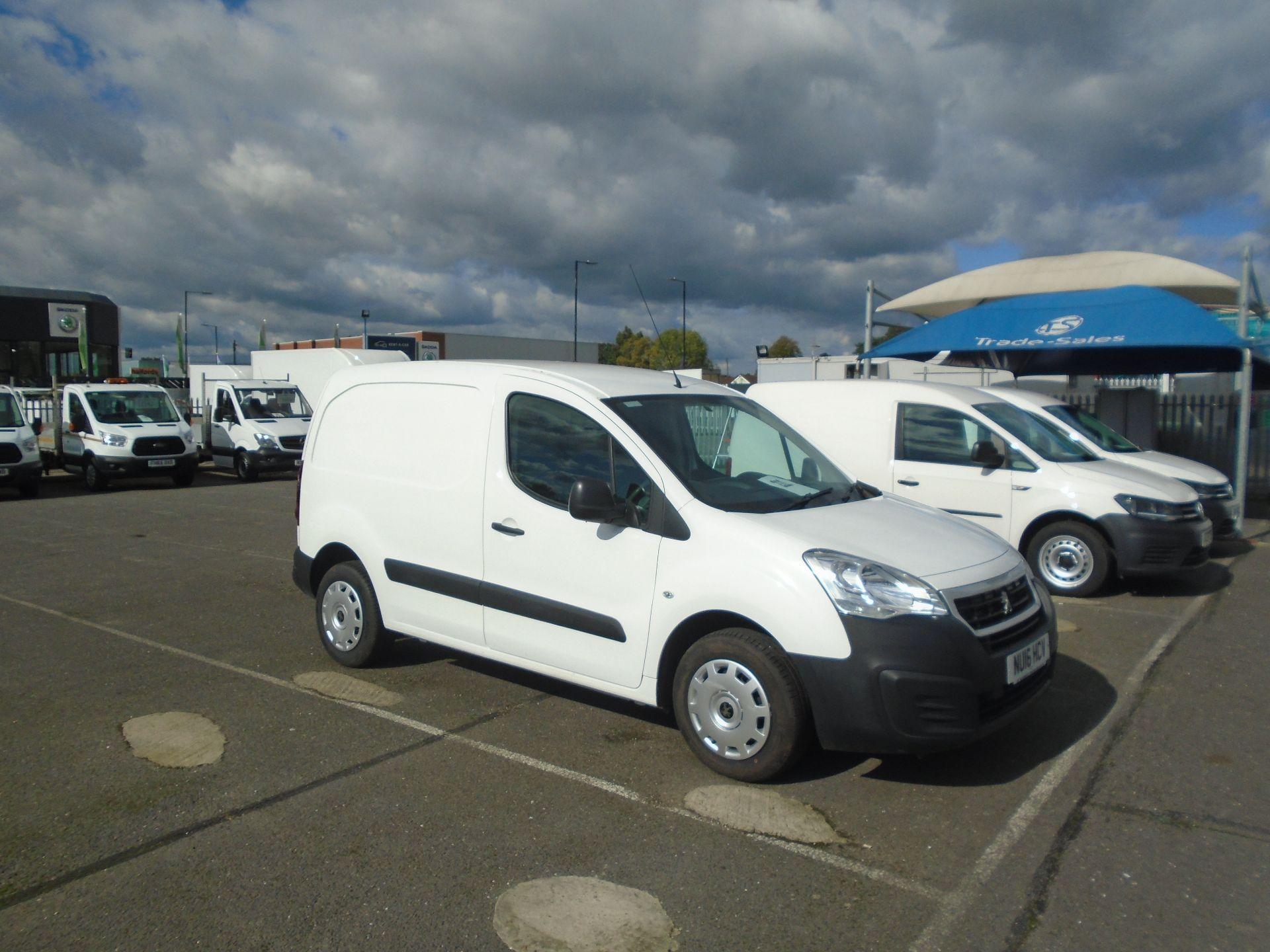2016 Peugeot Partner 850 S 1.6 Hdi 92 Van [Sld](EURO 5) (NU16HCV)
