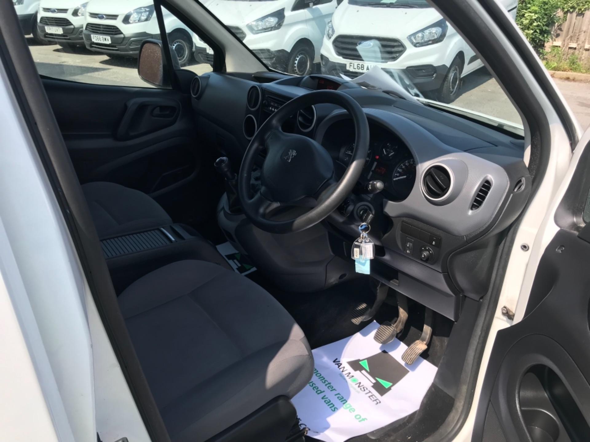 2016 Peugeot Partner L2 715 S 1.6 92PS CREW VAN EURO 5 (NU16HDN) Image 12
