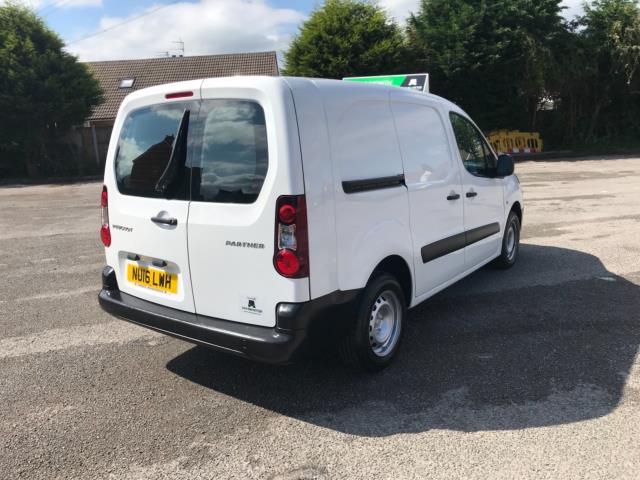 2016 Peugeot Partner 715 S 1.6 Hdi 92 Crew Van (NU16LWH) Image 7
