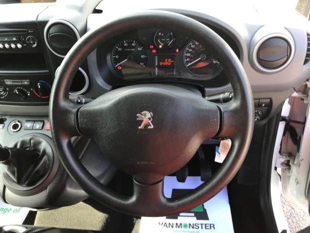 2016 Peugeot Partner 715 S 1.6 Hdi 92 Crew Van (NU16LWH) Image 10