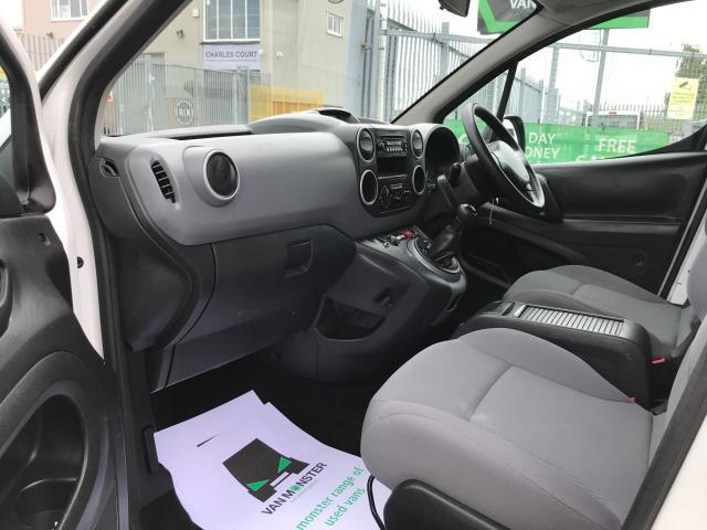 2016 Peugeot Partner L2 715 S 1.6HDI 92PS CREW VAN EURO 5 (NU16LWM) Image 17
