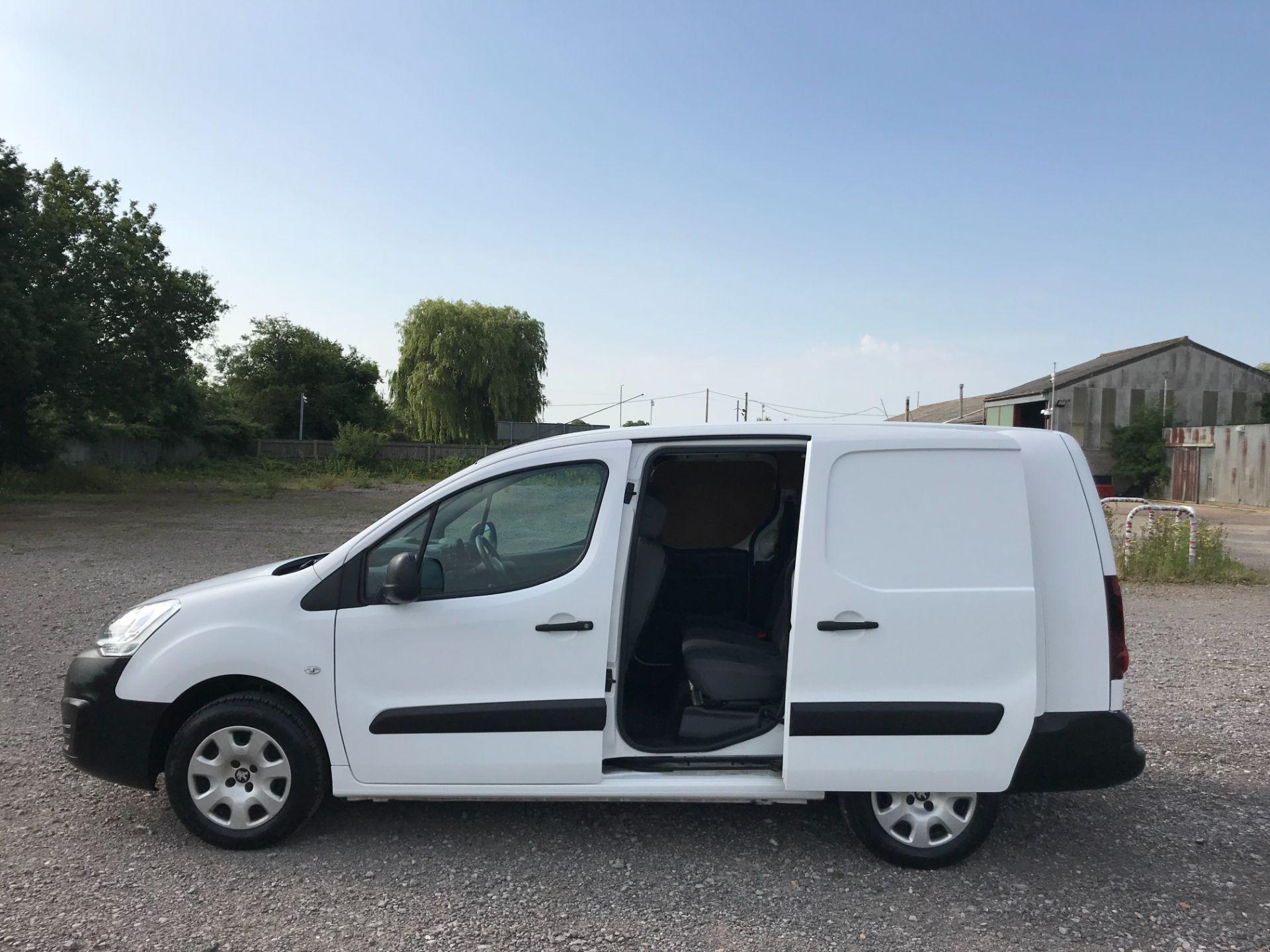 2016 Peugeot Partner L2 715 S 1.6 92PS CREW VAN EURO 5 (NU16LWP) Image 10