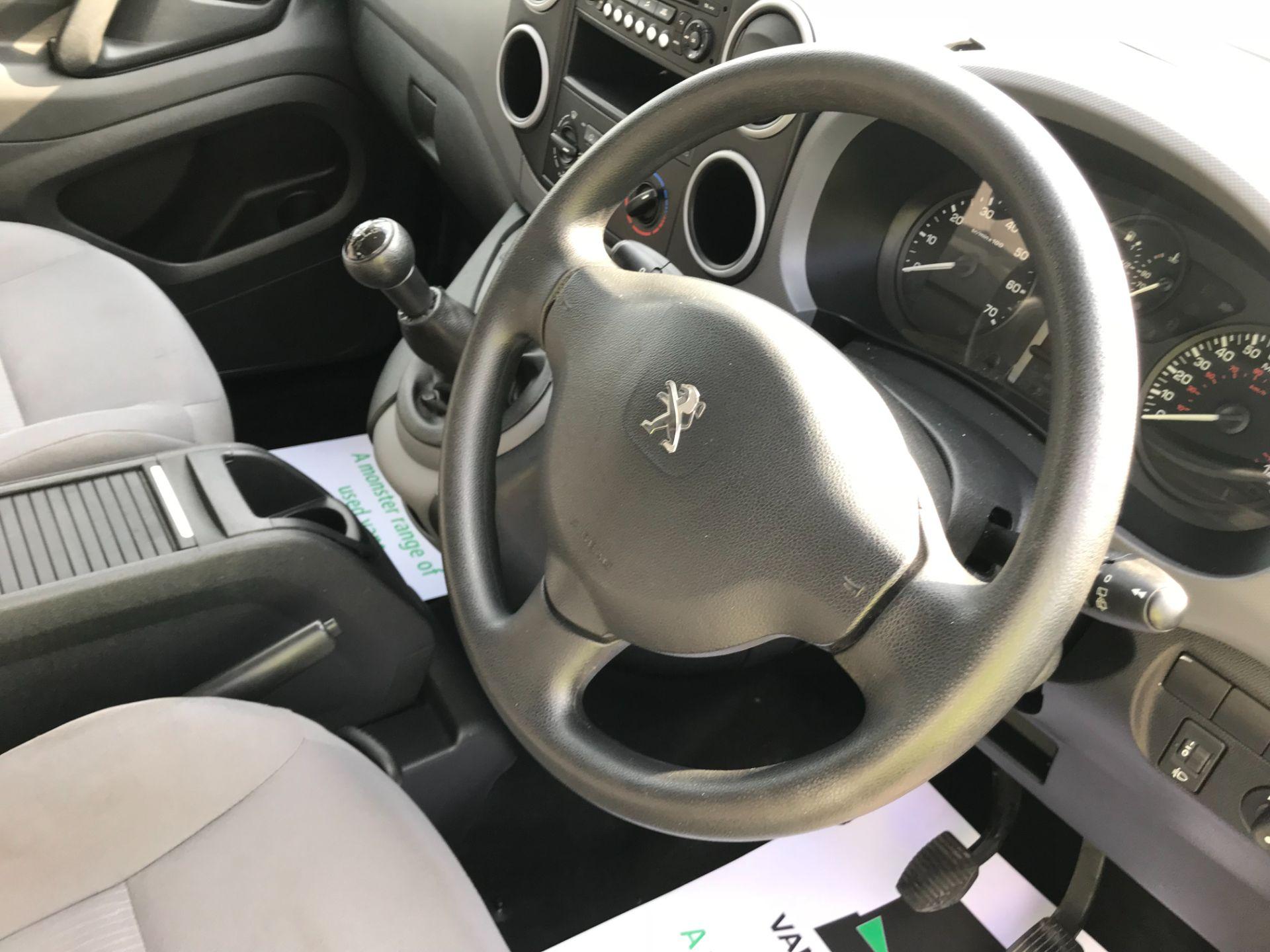 2016 Peugeot Partner L2 715 S 1.6 92PS CREW VAN EURO 5 (NU16LWP) Image 25