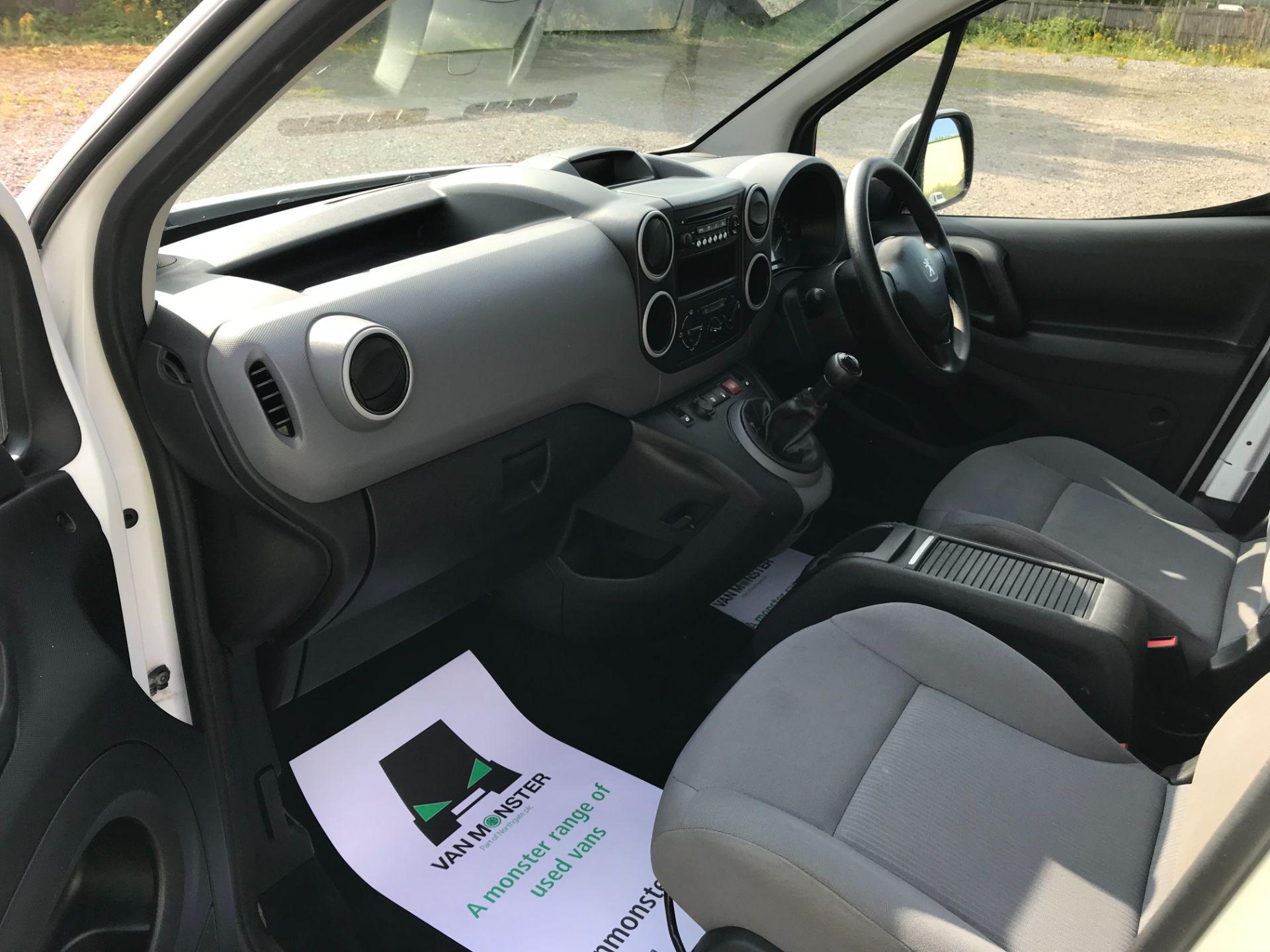 2016 Peugeot Partner L2 715 S 1.6 92PS CREW VAN EURO 5 (NU16LWP) Image 20