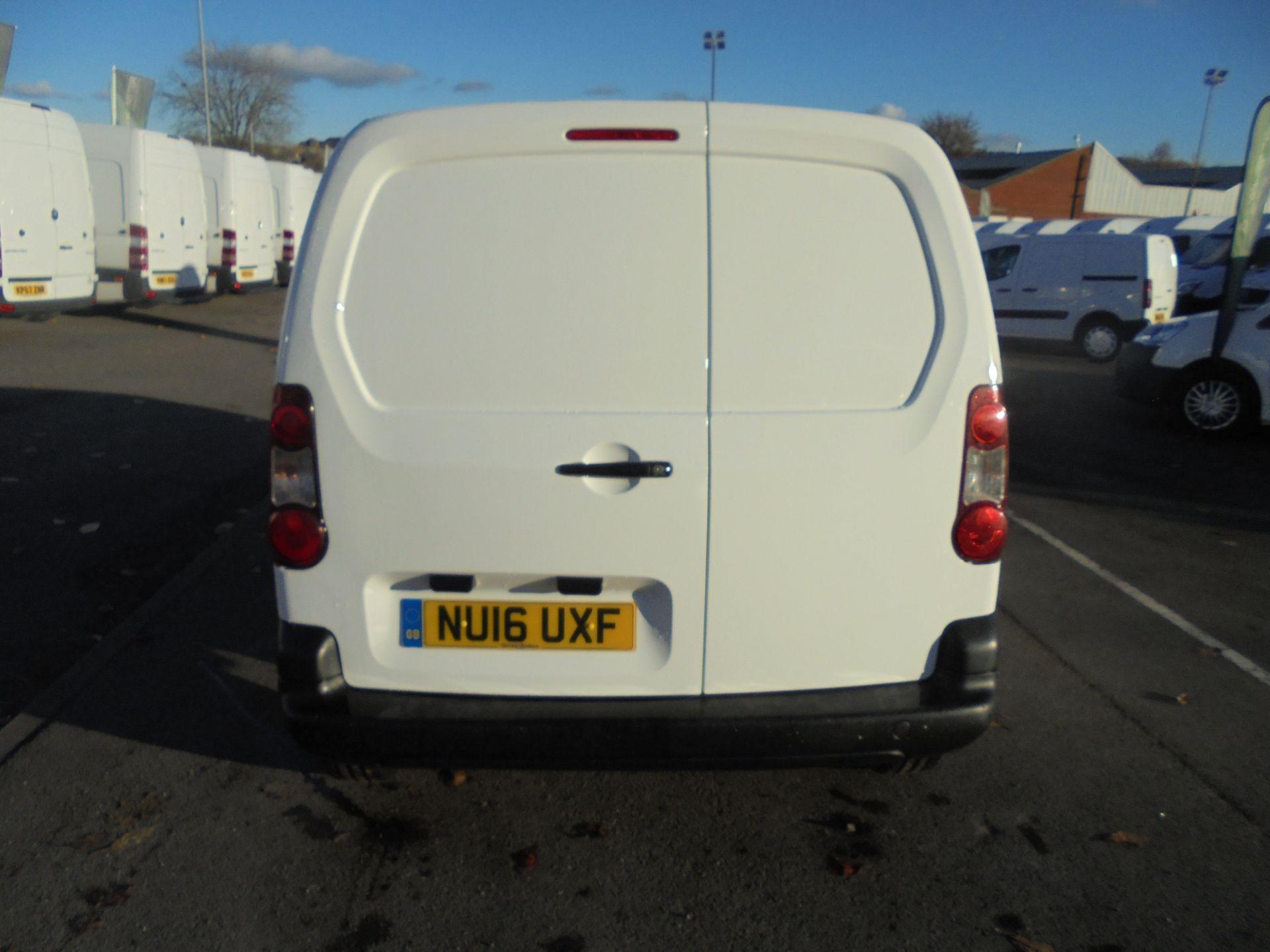 2016 Peugeot Partner 850 S 1.6 Hdi 92 Van [Sld] (NU16UXF) Image 6