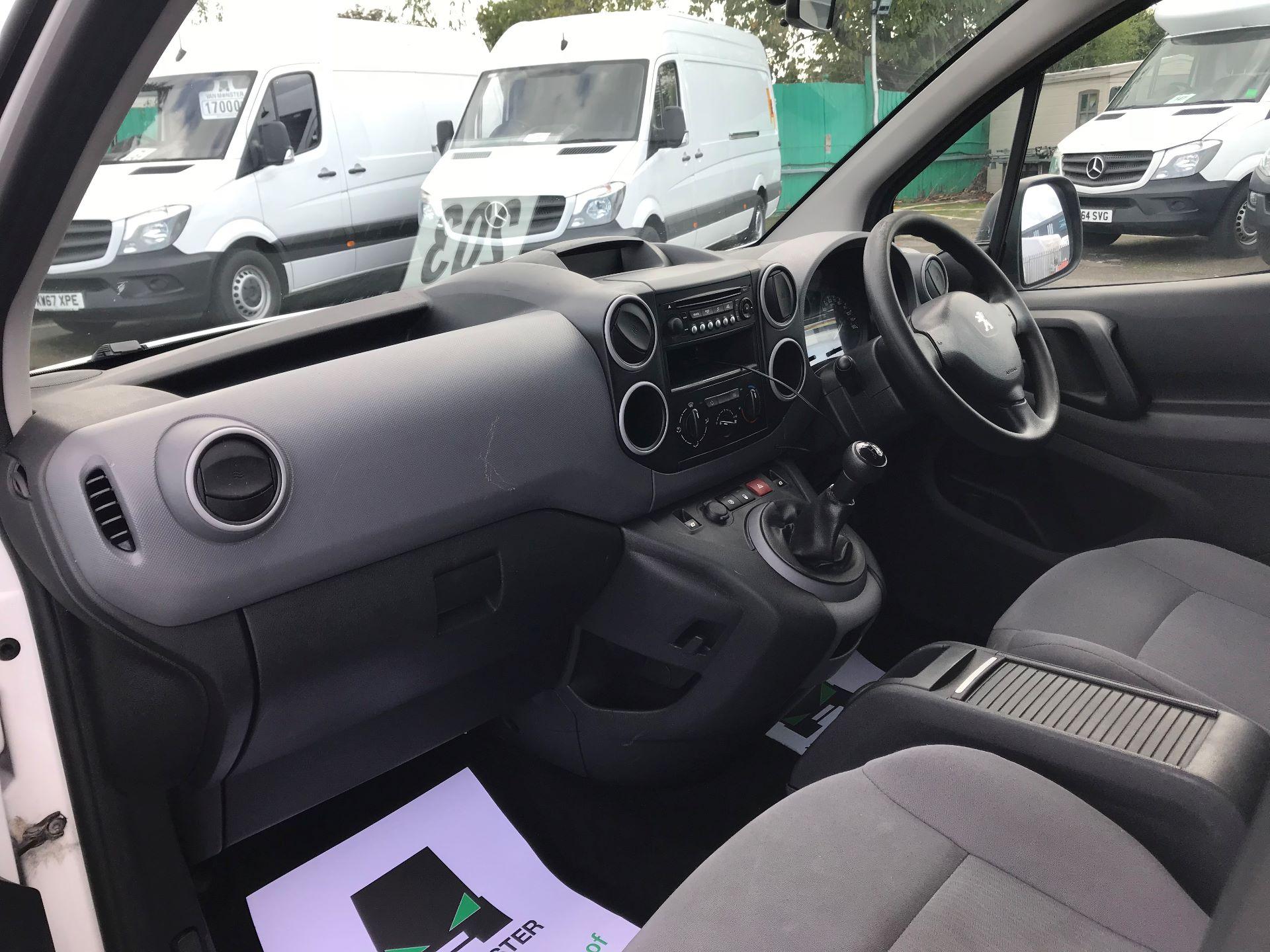 2016 Peugeot Partner  L2 715 S 1.6 92PS CREW EURO 5 (NU16XVX) Image 19