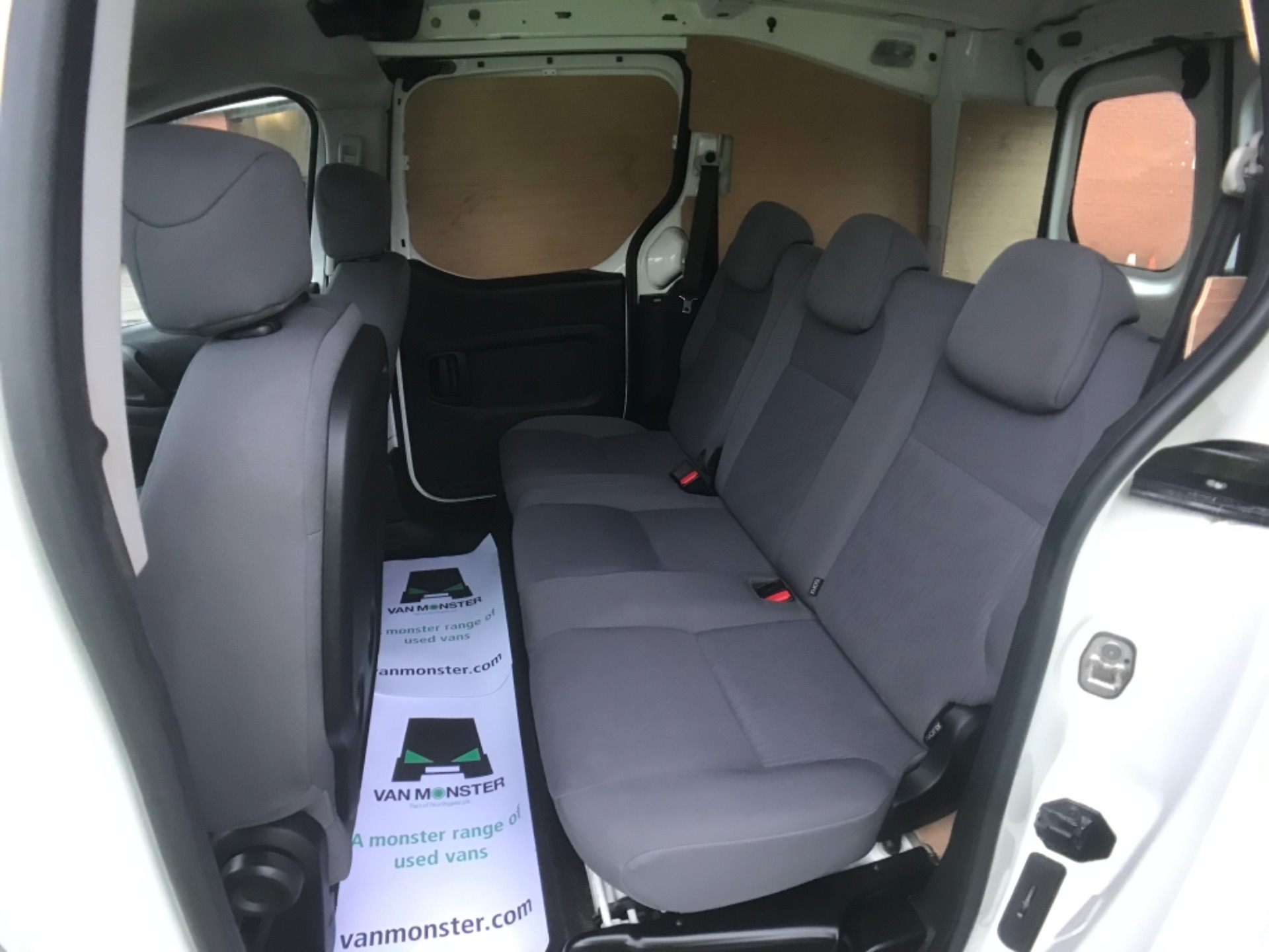 2016 Peugeot Partner 715 S 1.6 Hdi 92 Crew Van Euro 5 (NU16XWM) Image 13