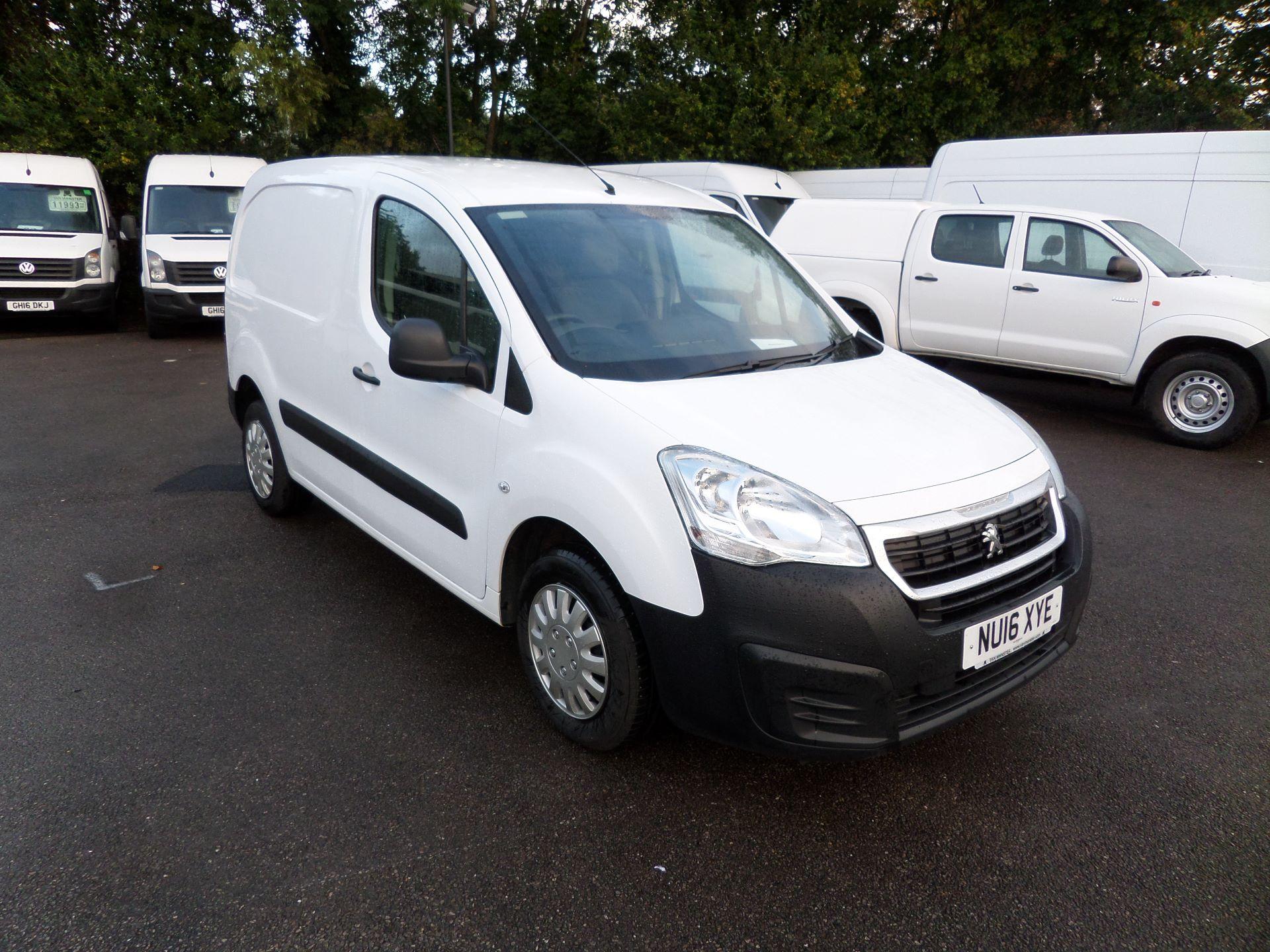 2016 Peugeot Partner 850 S 1.6 Hdi 92 Van [Sld] (NU16XYE)
