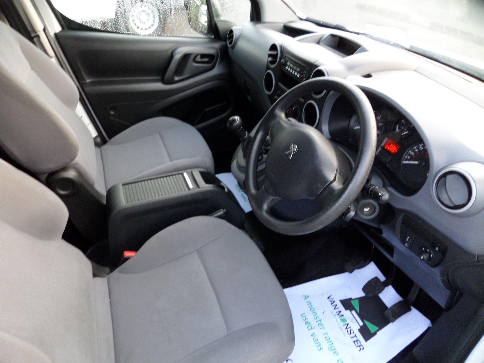 2016 Peugeot Partner 850 S 1.6 Hdi 92 Van [Sld] (NU16XYE) Image 2