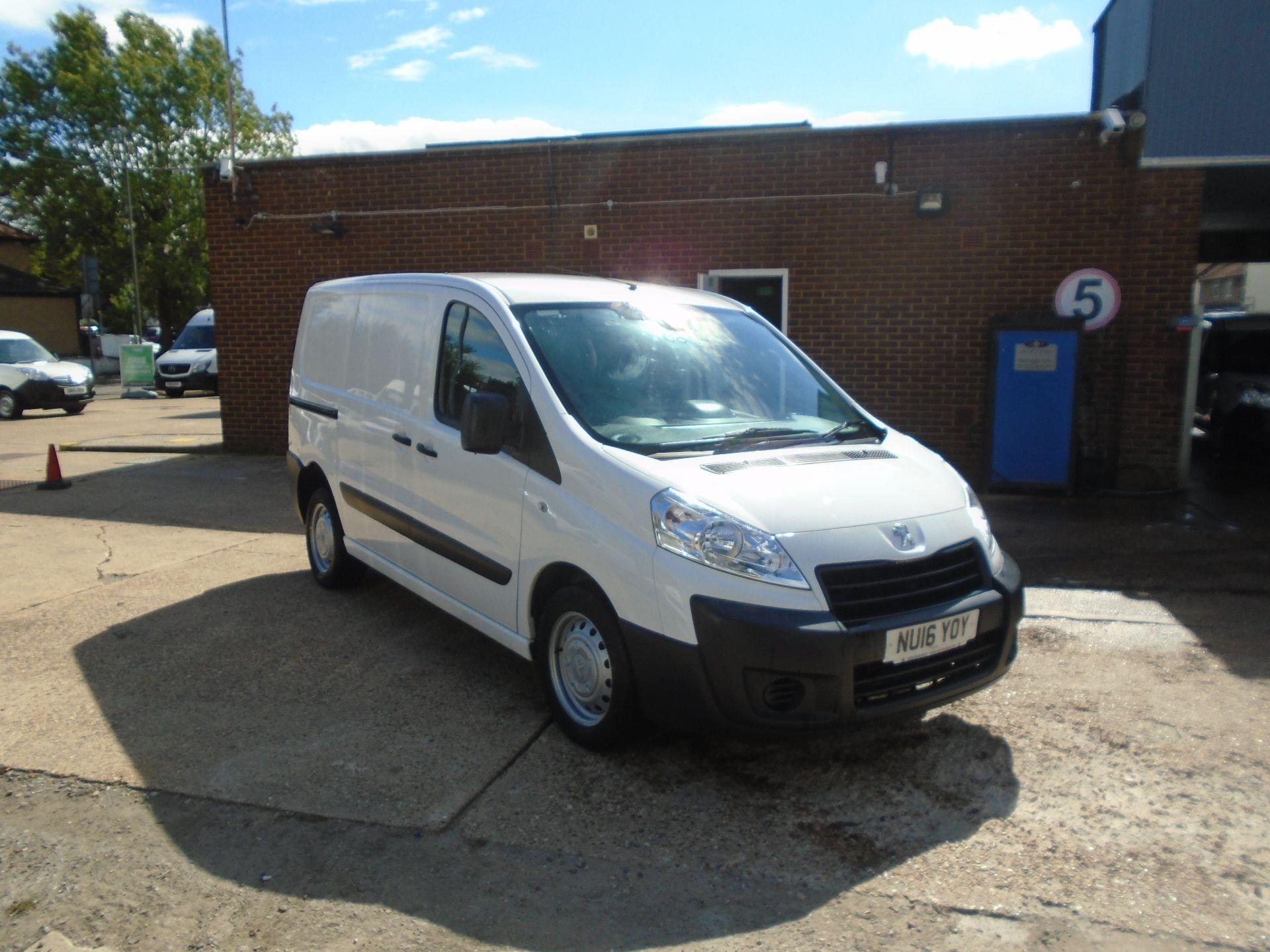 2016 Peugeot Expert 1000 1.6 Hdi 90 H1 Van(EURO 5) (NU16YOY) Image 1