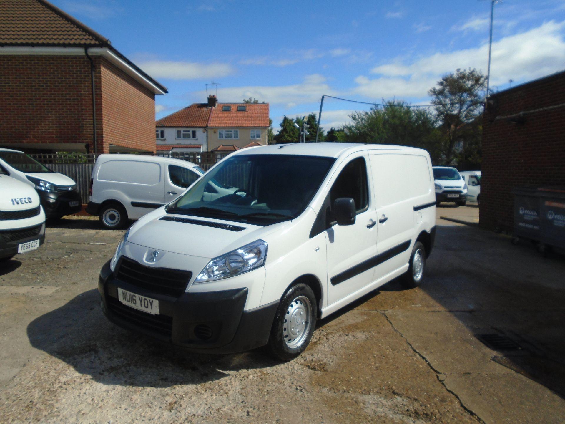 2016 Peugeot Expert 1000 1.6 Hdi 90 H1 Van(EURO 5) (NU16YOY) Image 2