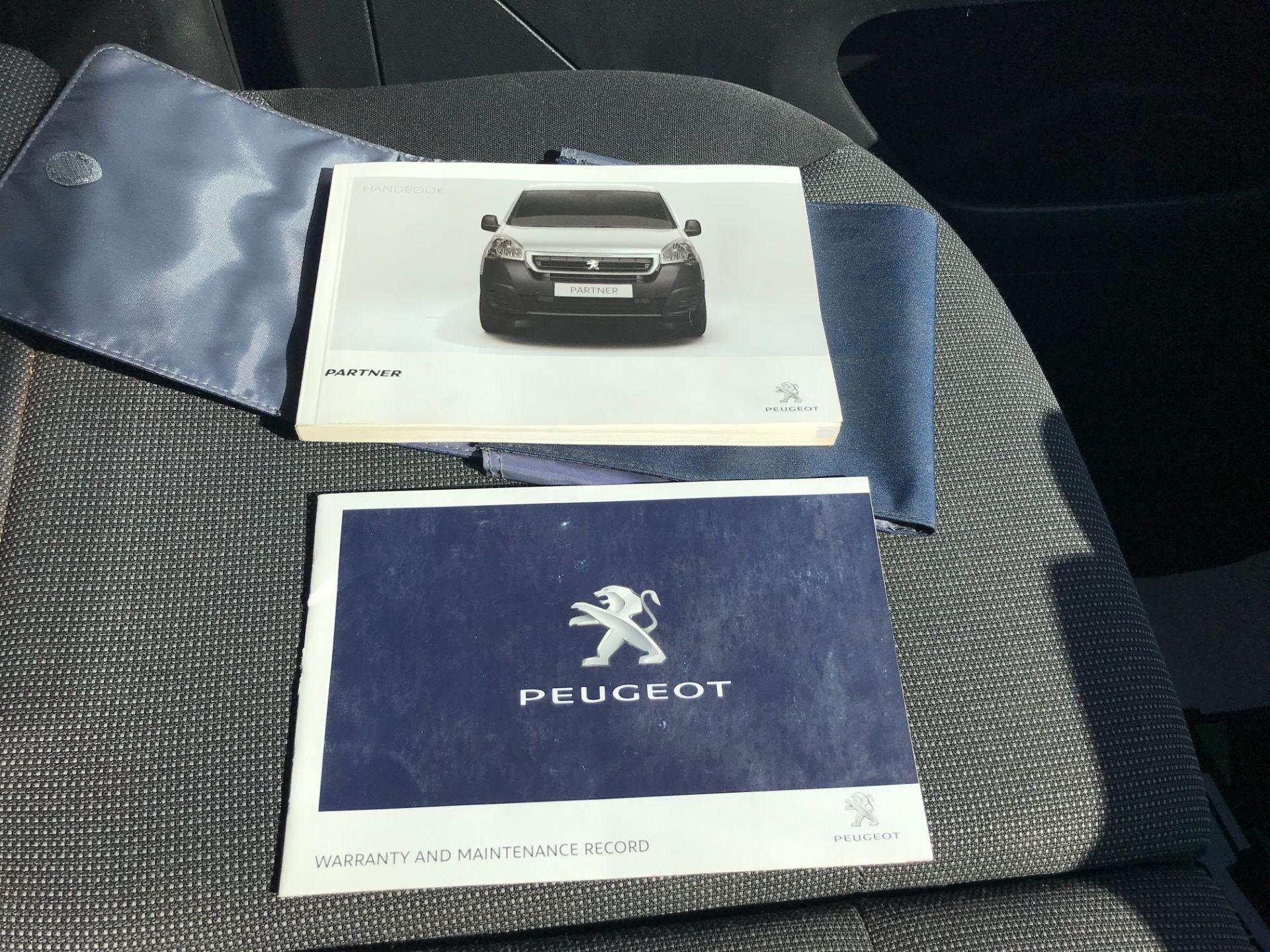 2017 Peugeot Partner L1 850 1.6BLUEHDI 100PS PROFESSIONAL EURO 6 (NU17BFP) Image 25