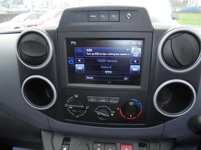 2017 Peugeot Partner L1 850 1.6 BLUEHDI 100 PROFFESIONAL (NON S/S) EURO 6 (NU17BHP) Image 7