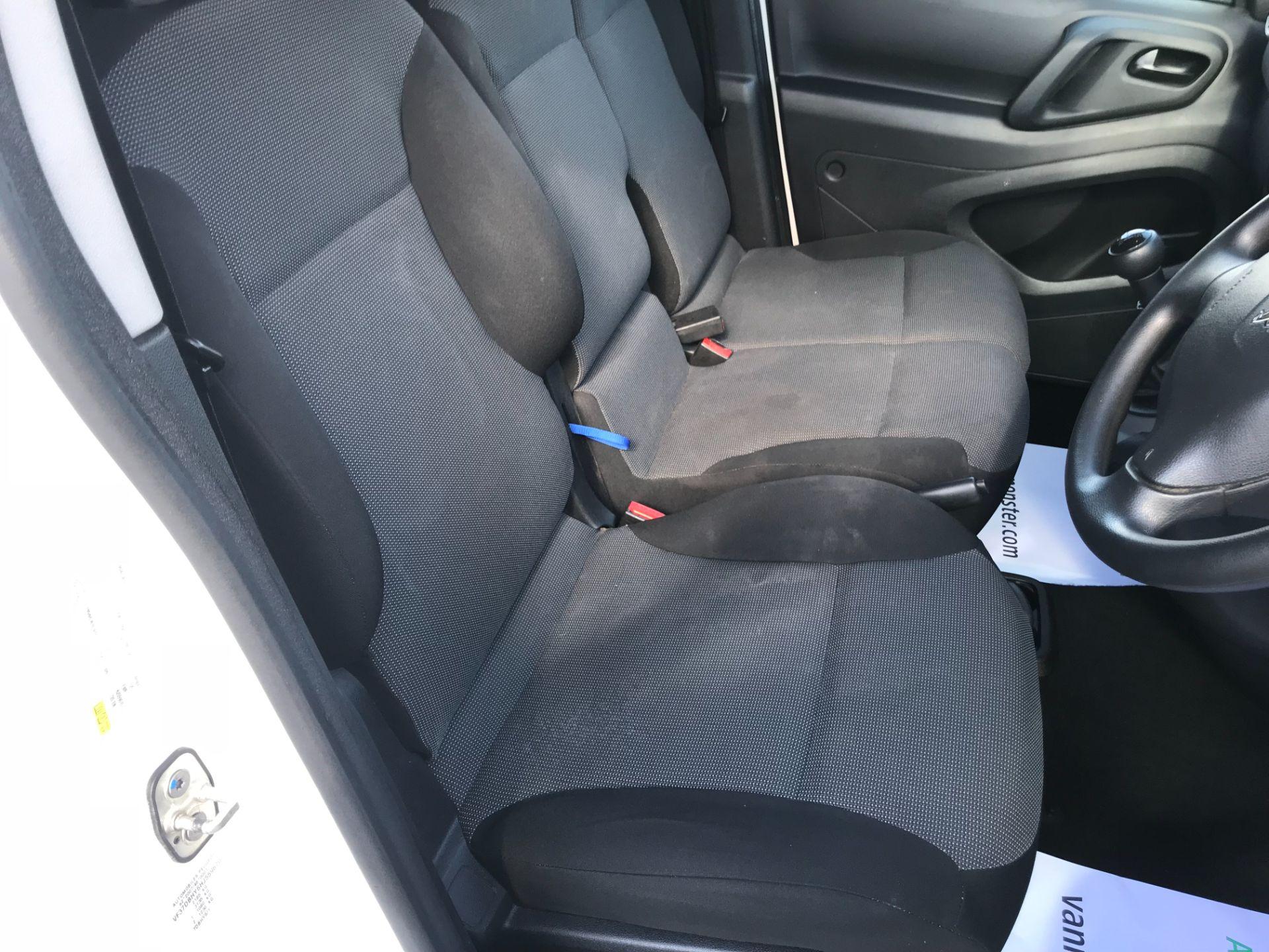 2017 Peugeot Partner 850 1.6 Bluehdi 100 Professional Van [Non Ss] (NU17BHW) Image 26