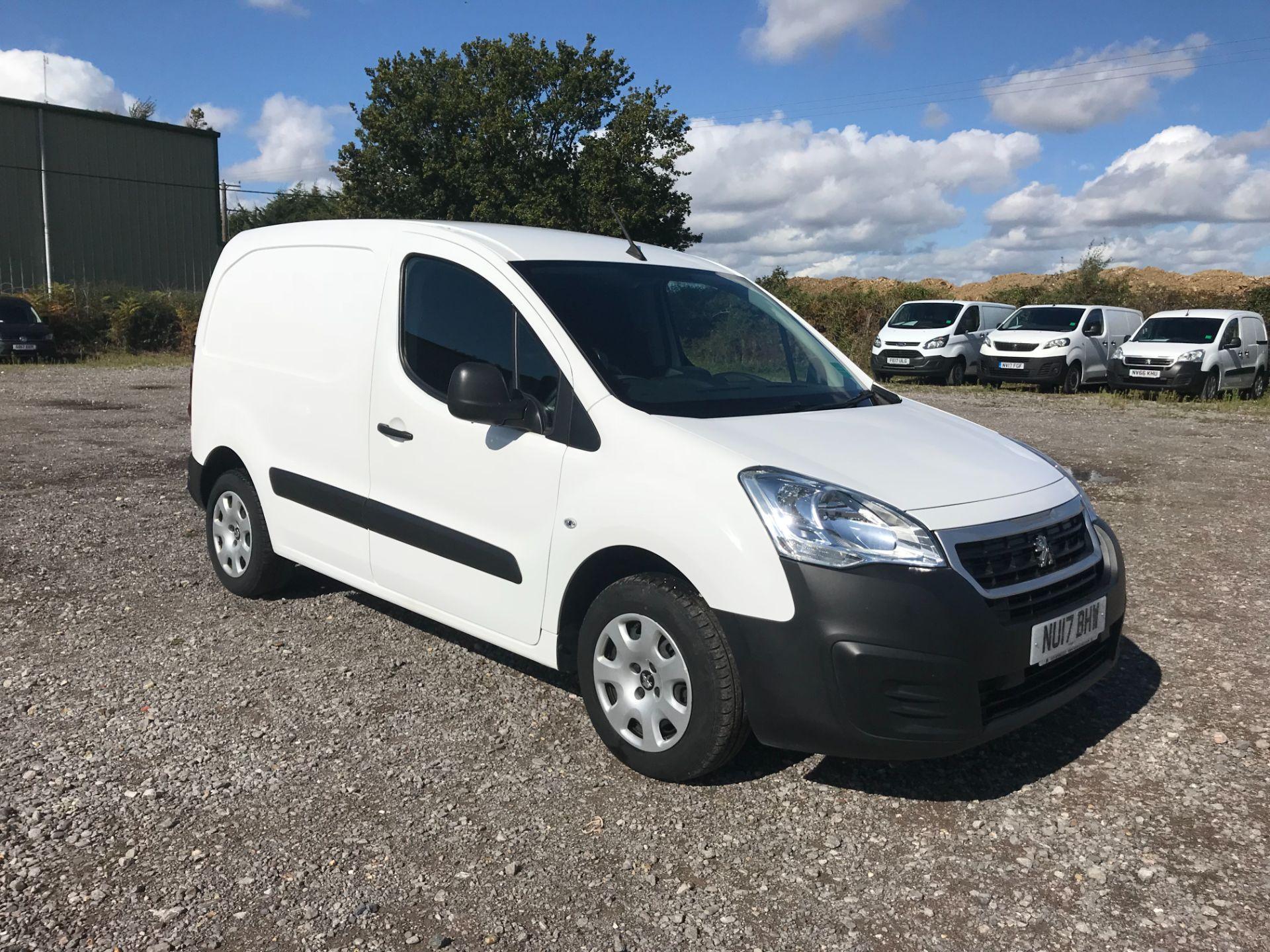 2017 Peugeot Partner 850 1.6 Bluehdi 100 Professional Van [Non Ss] (NU17BHW)