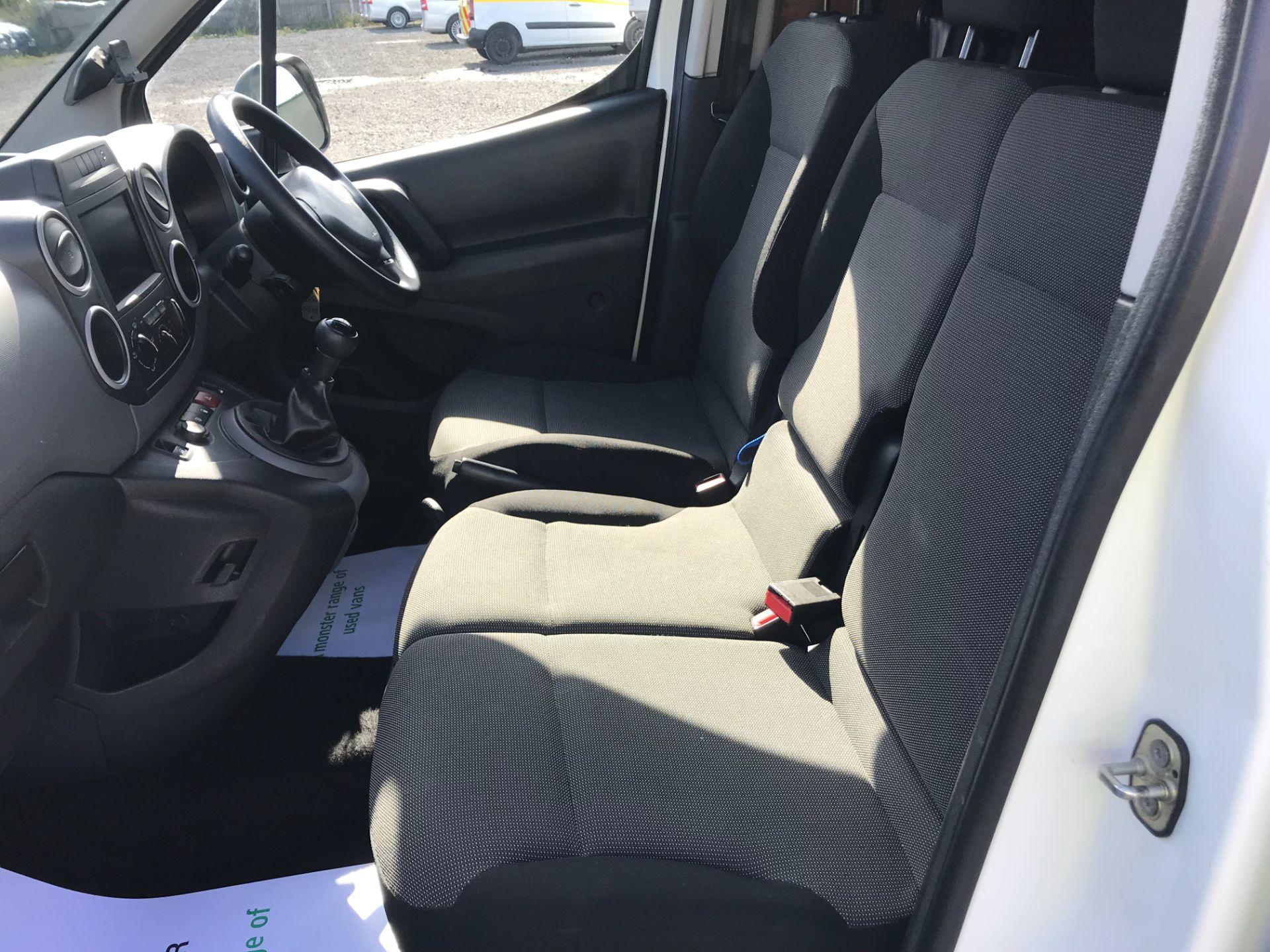 2017 Peugeot Partner 850 1.6 Bluehdi 100 Professional Van [Non Ss] (NU17BHW) Image 16