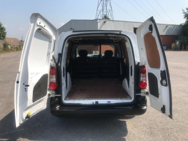 2017 Peugeot Partner 750 S 1.6 L2 Bluehdi 100 Van Non Start Stop Euro 6 (NU17EEW) Image 33