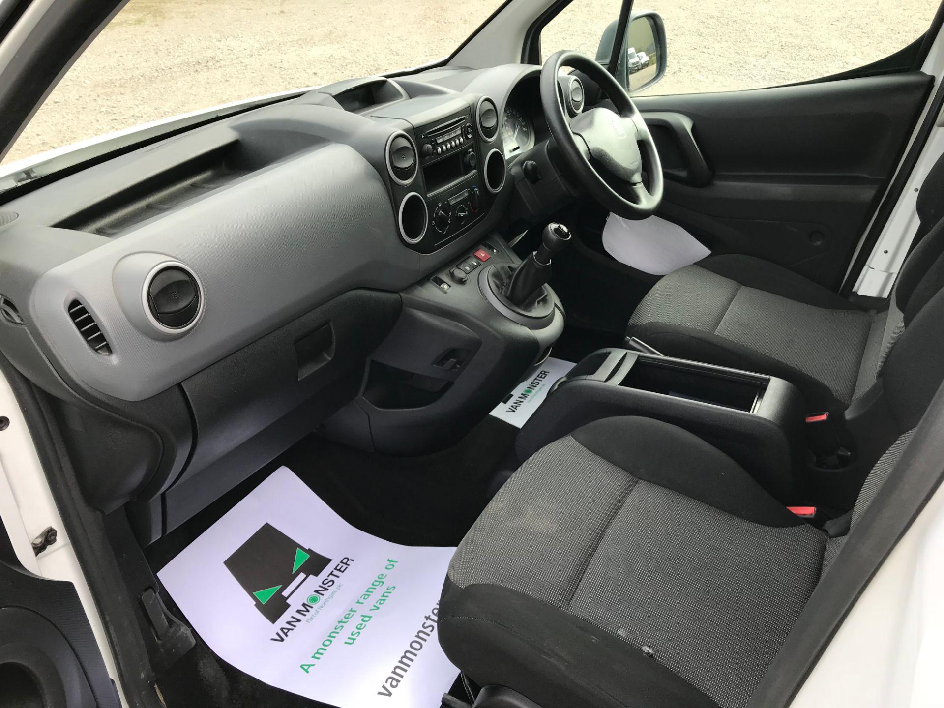 2017 Peugeot Partner 715 S 1.6 Bluehdi 100 Crew Van (NU17ENV) Image 23