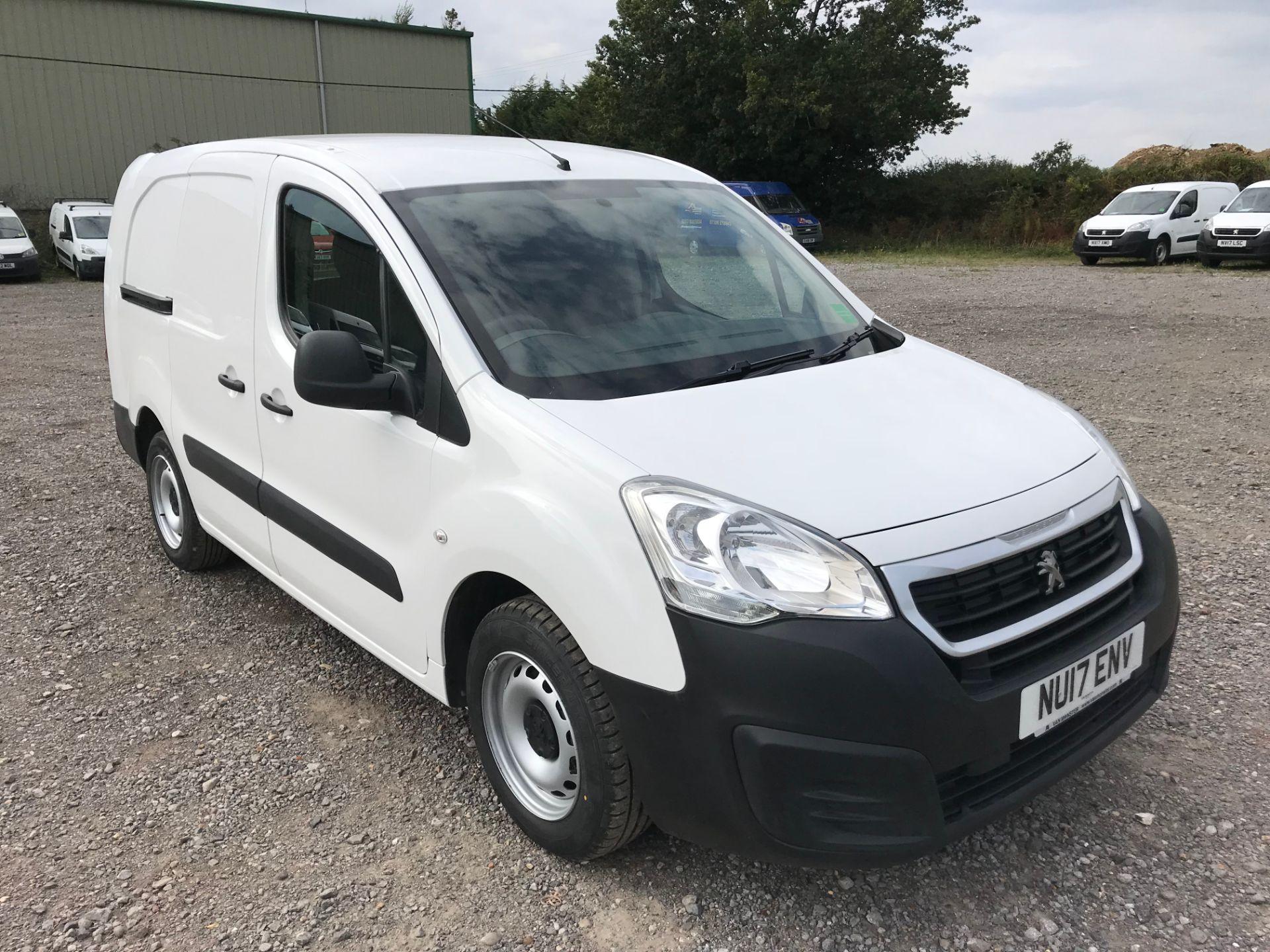 2017 Peugeot Partner 715 S 1.6 Bluehdi 100 Crew Van (NU17ENV) Image 1
