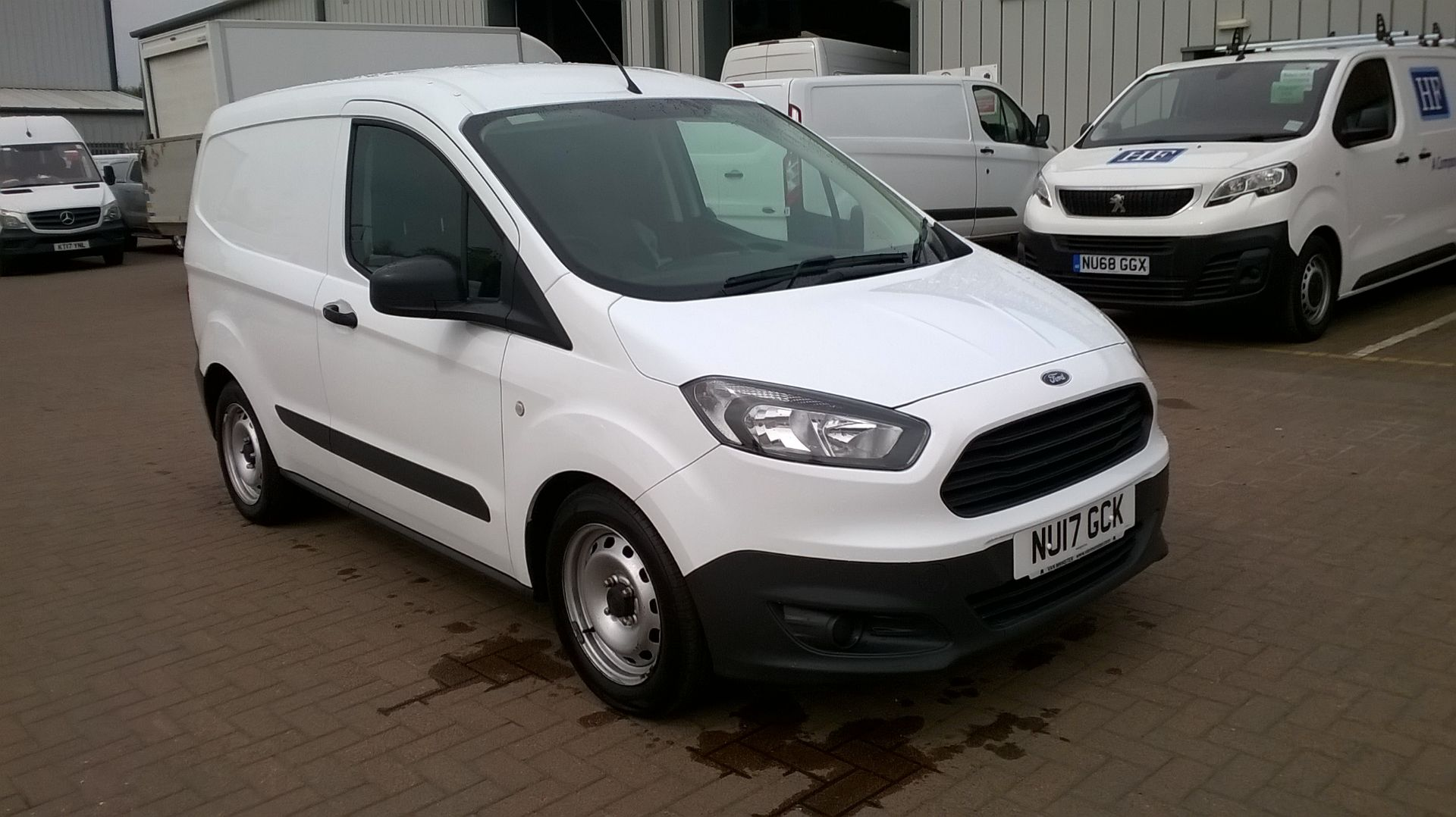 2017 Ford Transit Courier 1.5 TDCI EURO 6 (NU17GCK)