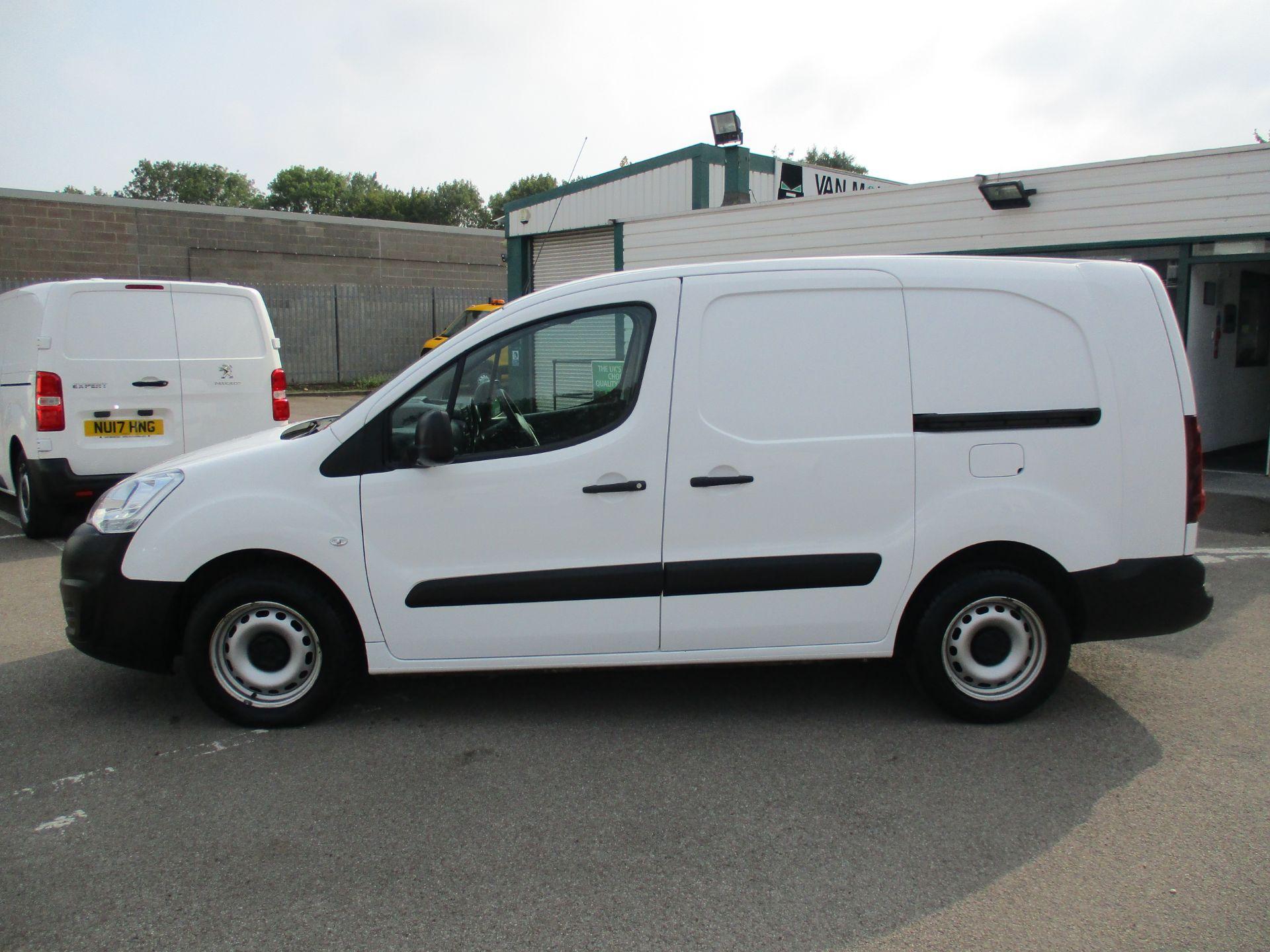 2017 Peugeot Partner 715 S 1.6 Bluehdi 100 Crew Van (NU17GTY) Image 8