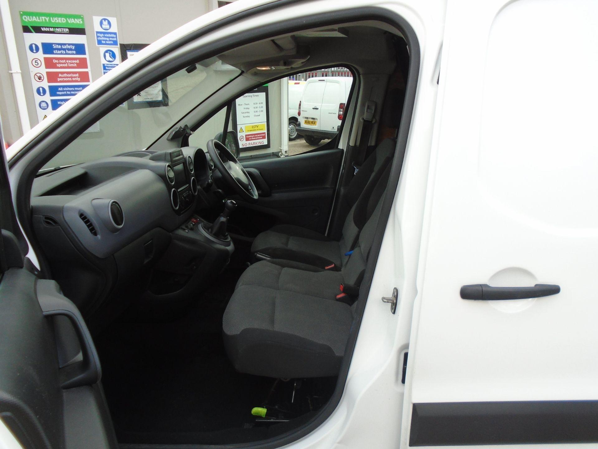 2017 Peugeot Partner 850 1.6 Bluehdi 100 Professional Van [Non Ss] (NU17HPC) Image 16
