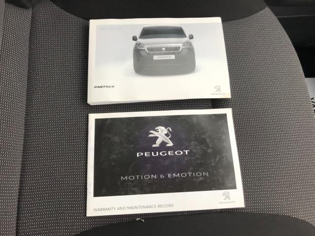 2017 Peugeot Partner 715 S 1.6 Bluehdi 100 Crew Van Euro 6 (NU17HPJ) Image 39