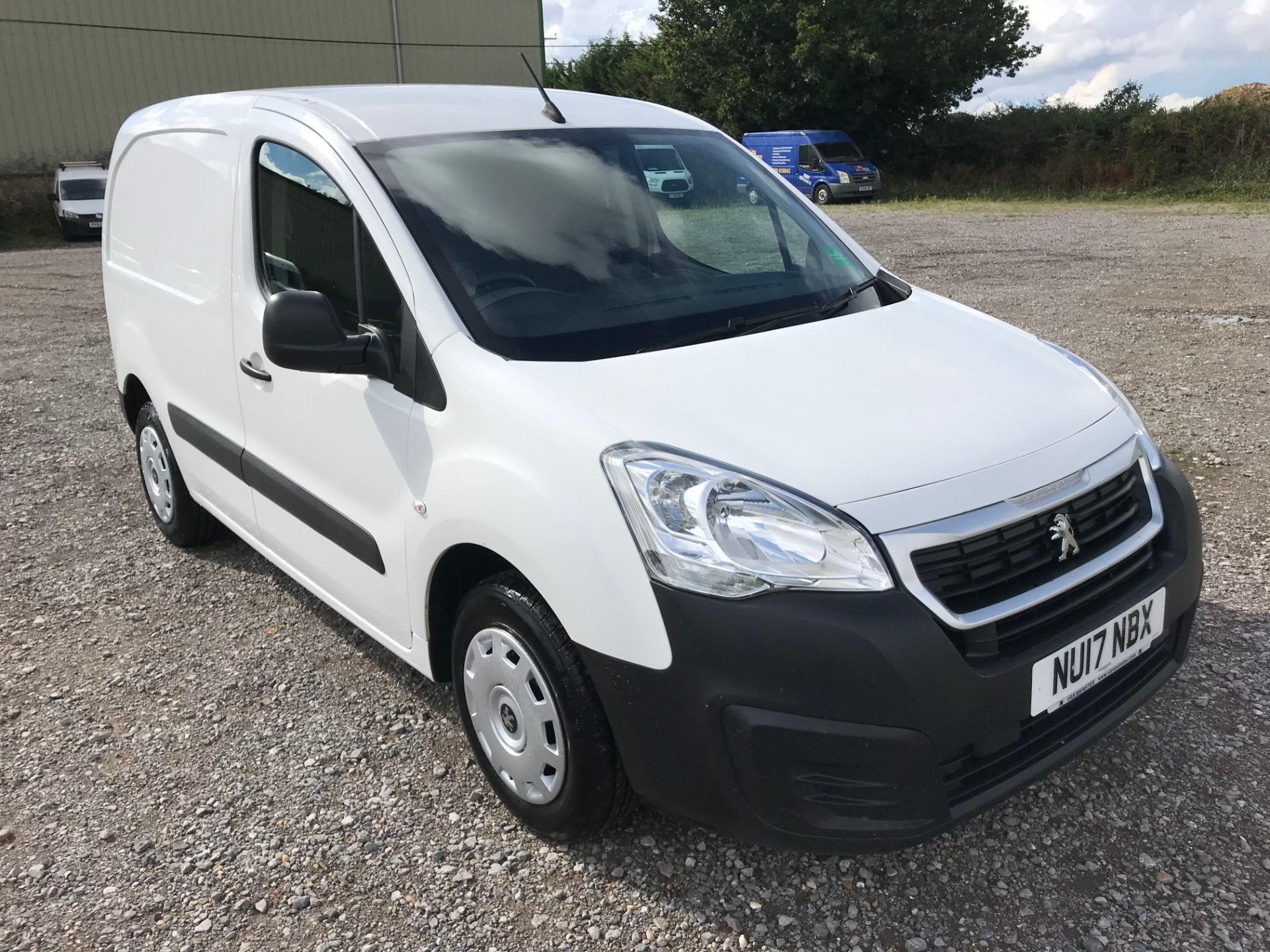 2017 Peugeot Partner 850 1.6 Bluehdi 100 Professional Van [Non Ss] (NU17NBX) Image 1