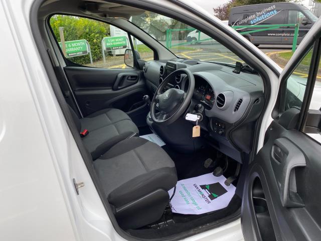 2017 Peugeot Partner 850 1.6 Bluehdi 100 Professional Van [Non Ss] (NU17OES) Image 13