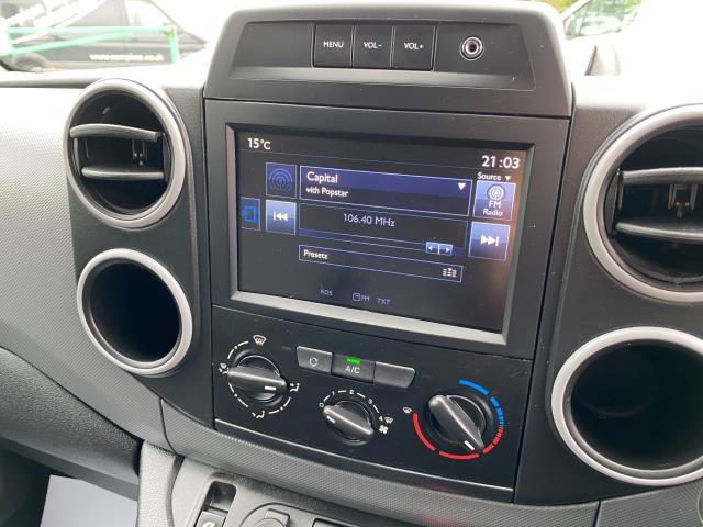 2017 Peugeot Partner 850 1.6 Bluehdi 100 Professional Van [Non Ss] (NU17OES) Image 16