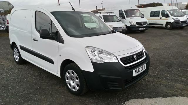 2017 Peugeot Partner 850 1.6 Bluehdi 100 Professional Van [Non Ss] (NU17OEX)