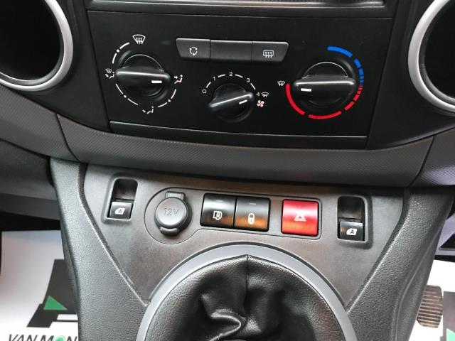 2017 Peugeot Partner  L2 715 S 1.6 BLUEHDI 100 CREW VAN EURO 6 (NU17OGE) Image 22