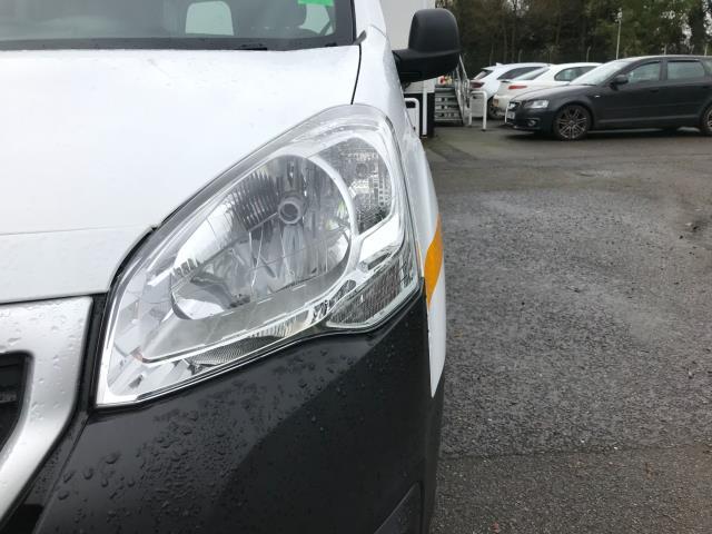 2017 Peugeot Partner  L2 715 S 1.6 BLUEHDI 100 CREW VAN EURO 6 (NU17OGE) Image 12