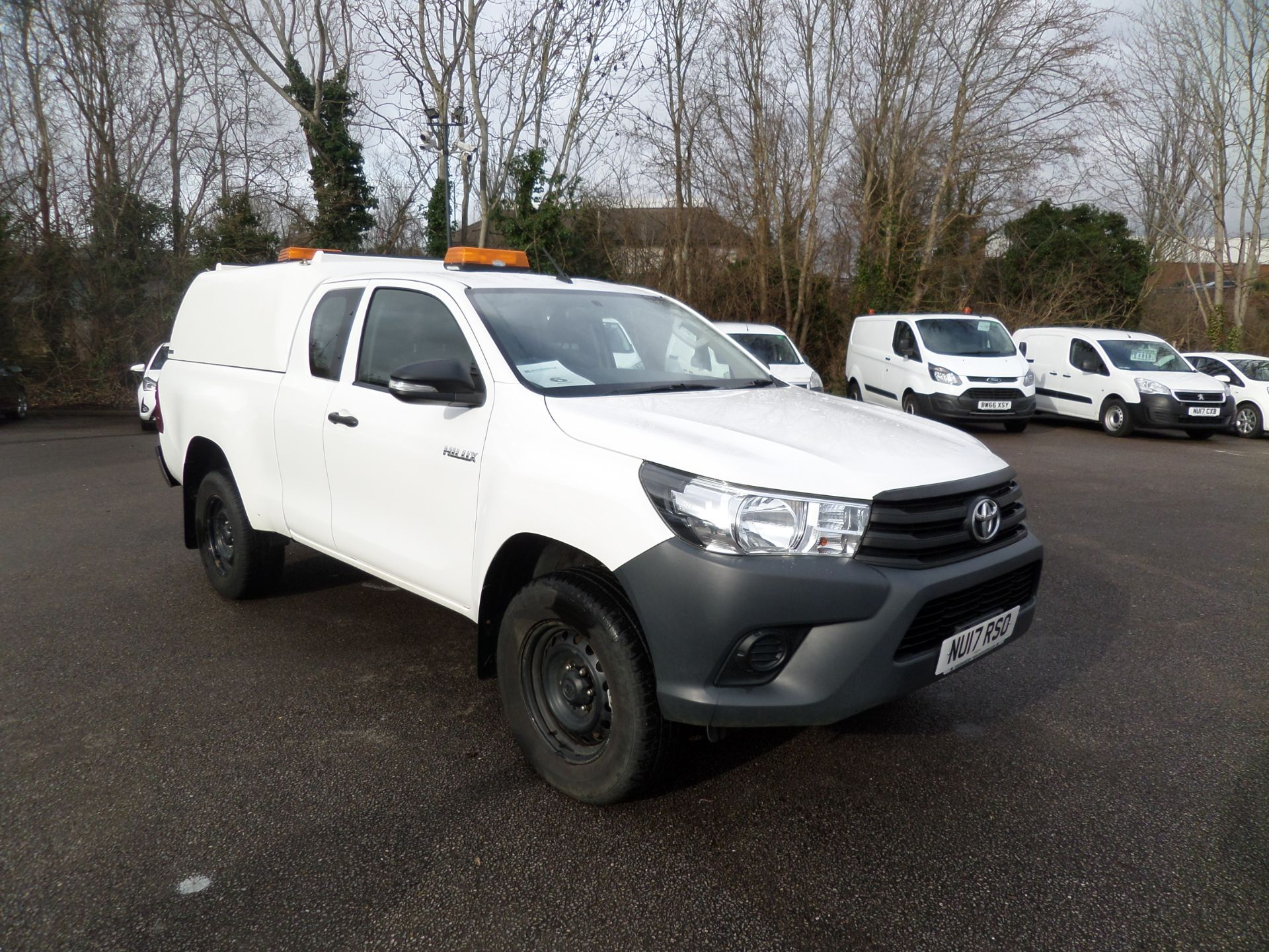 2017 Toyota Hilux Active Extra Long Double Cab Pick Up 2.4 D-4D Euro 6 (NU17RSO)